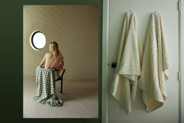 Baina Organic Cotton Towels Celebrate Daily Bathing Ritual Yellowtrace
