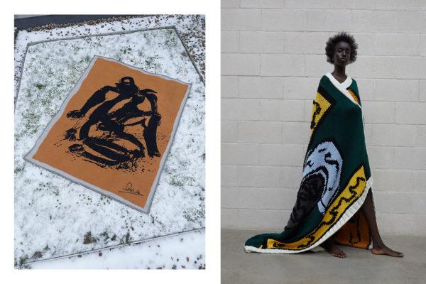 Jw Anderson Blankets Dame Magdalene Odundo Dbe Shawanda Corbett Hand Knitted Woven Textiles Homewares Yellowtrace