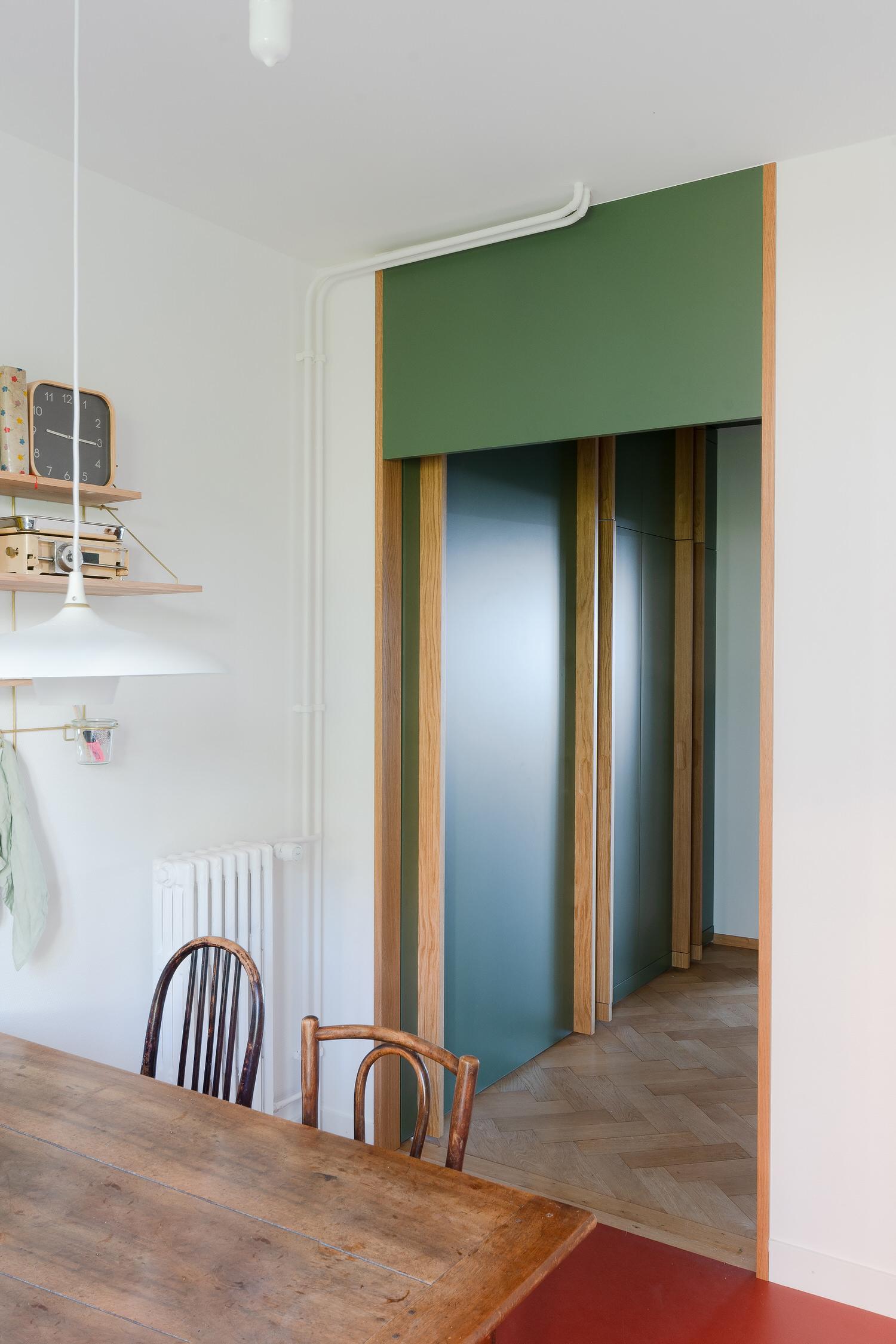 Bureau Brisson Architectes, Montolivet Apartment Renovation Lousanne, Photo Alan Hasoo | Yellowtrace