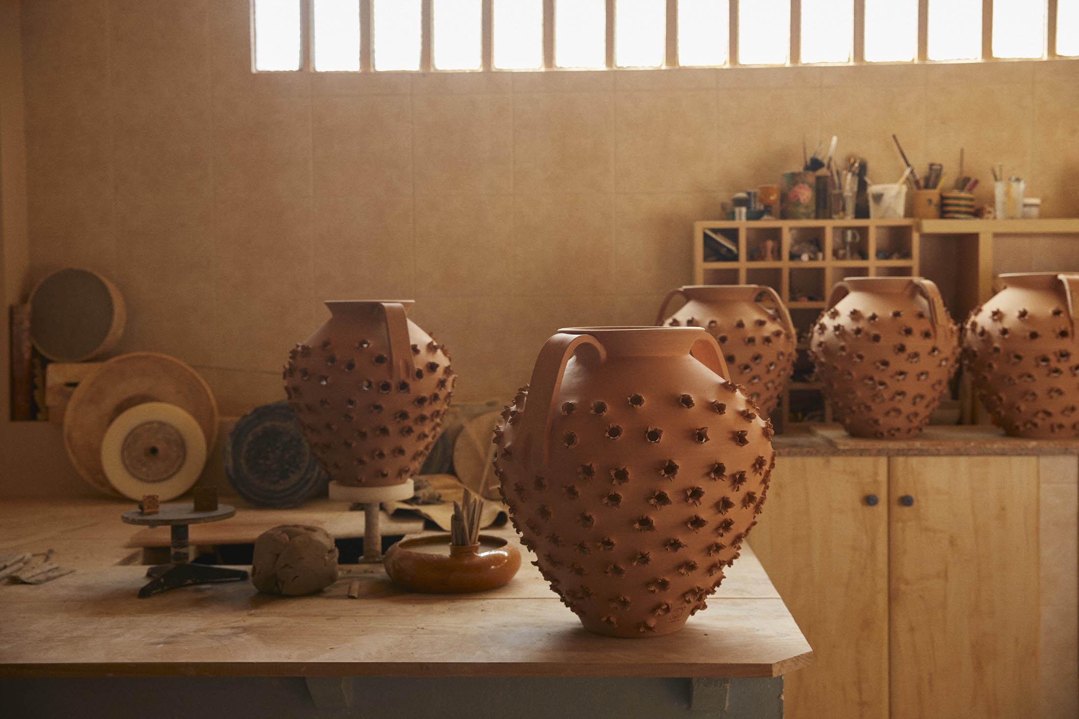 Loewe Waves Ceramic Artist Antonio Pereira Yellowtrace 04