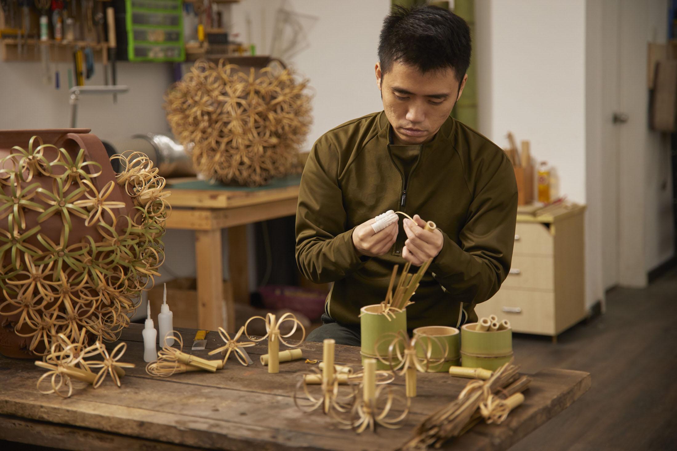 Loewe Waves Bamboo Artist Chen Min Yellowtrace 09