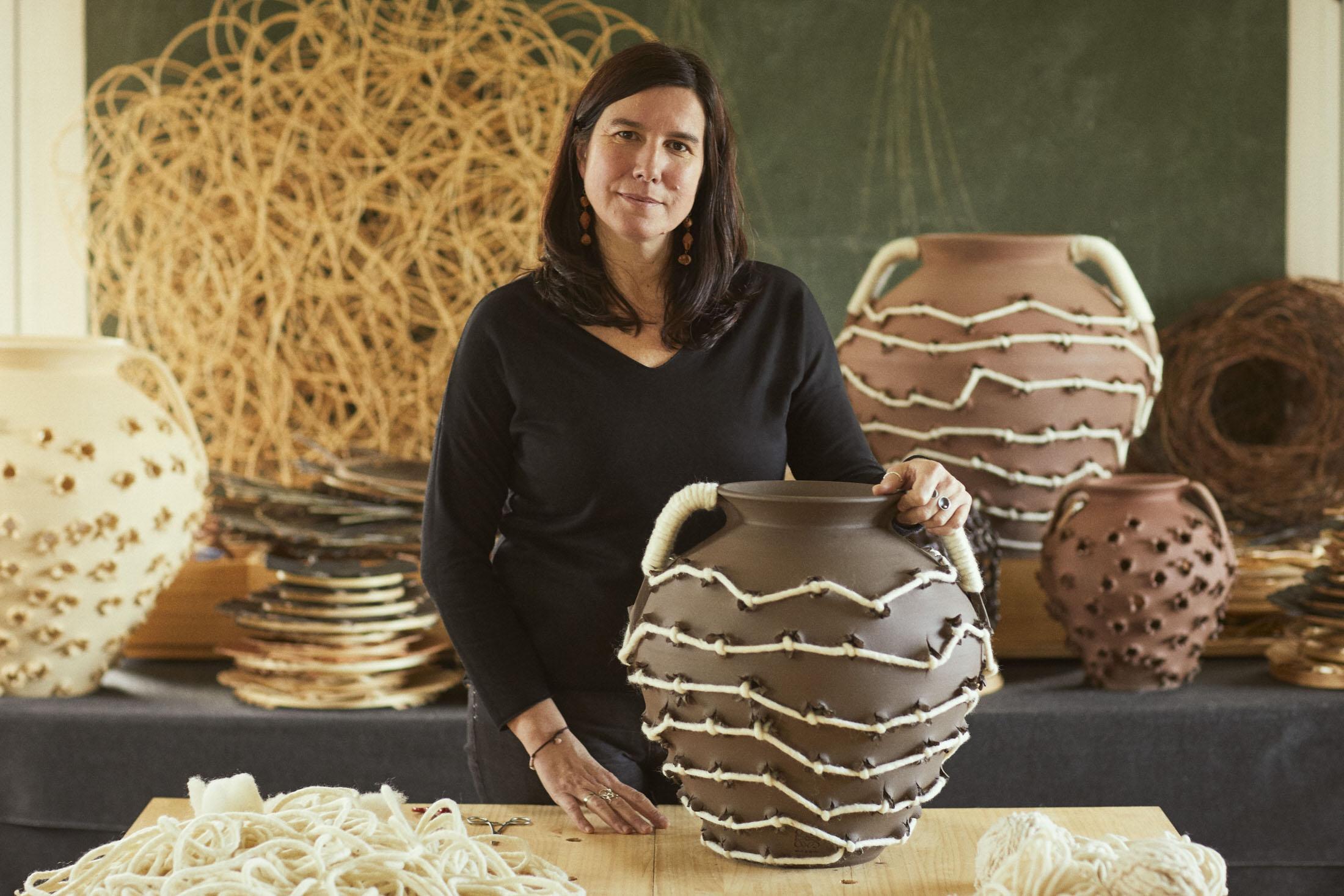 Loewe Waves Weaving Artist Idoia Cuesta Yellowtrace 10