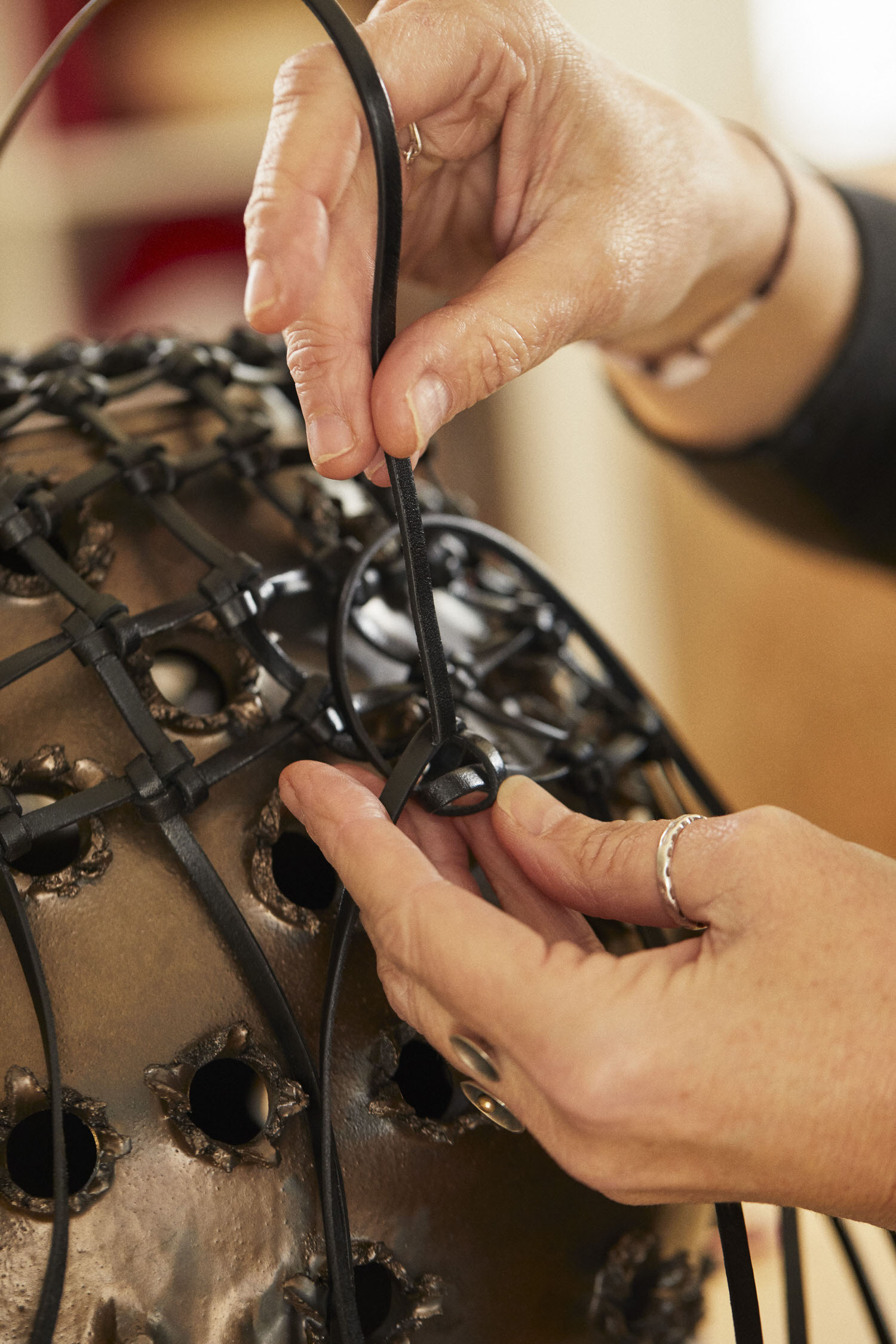 Loewe Waves Weaving Artist Idoia Cuesta Yellowtrace 12