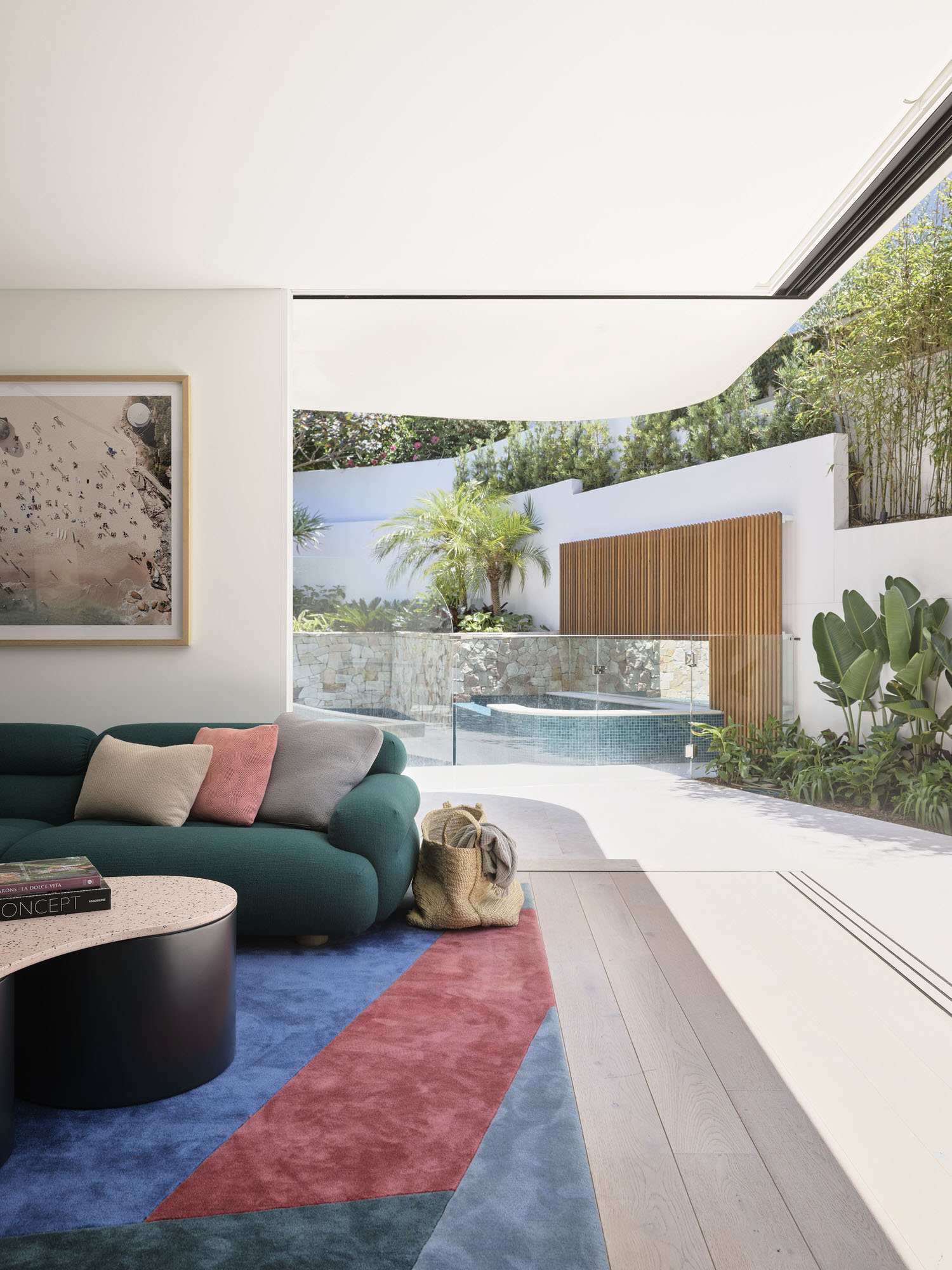 Decus Interiors Corner House Tamarama Photo Anson Smart Yellowtrace 10