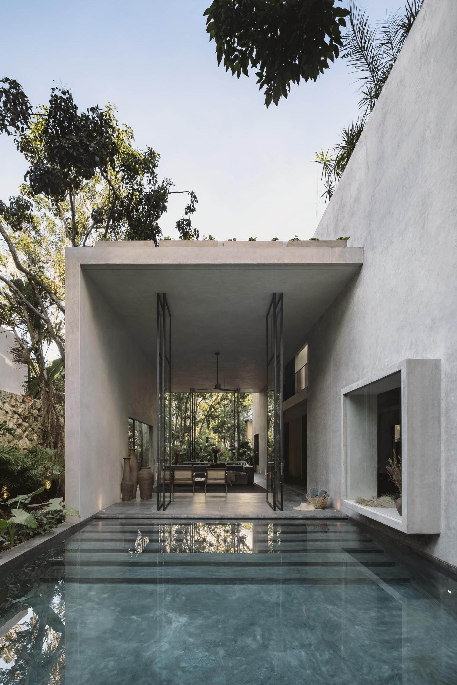 Co Lab Design Office Aviv House Tulum Mexico Arxhitecture Photo Cesar Bejar Yellowtrace 01