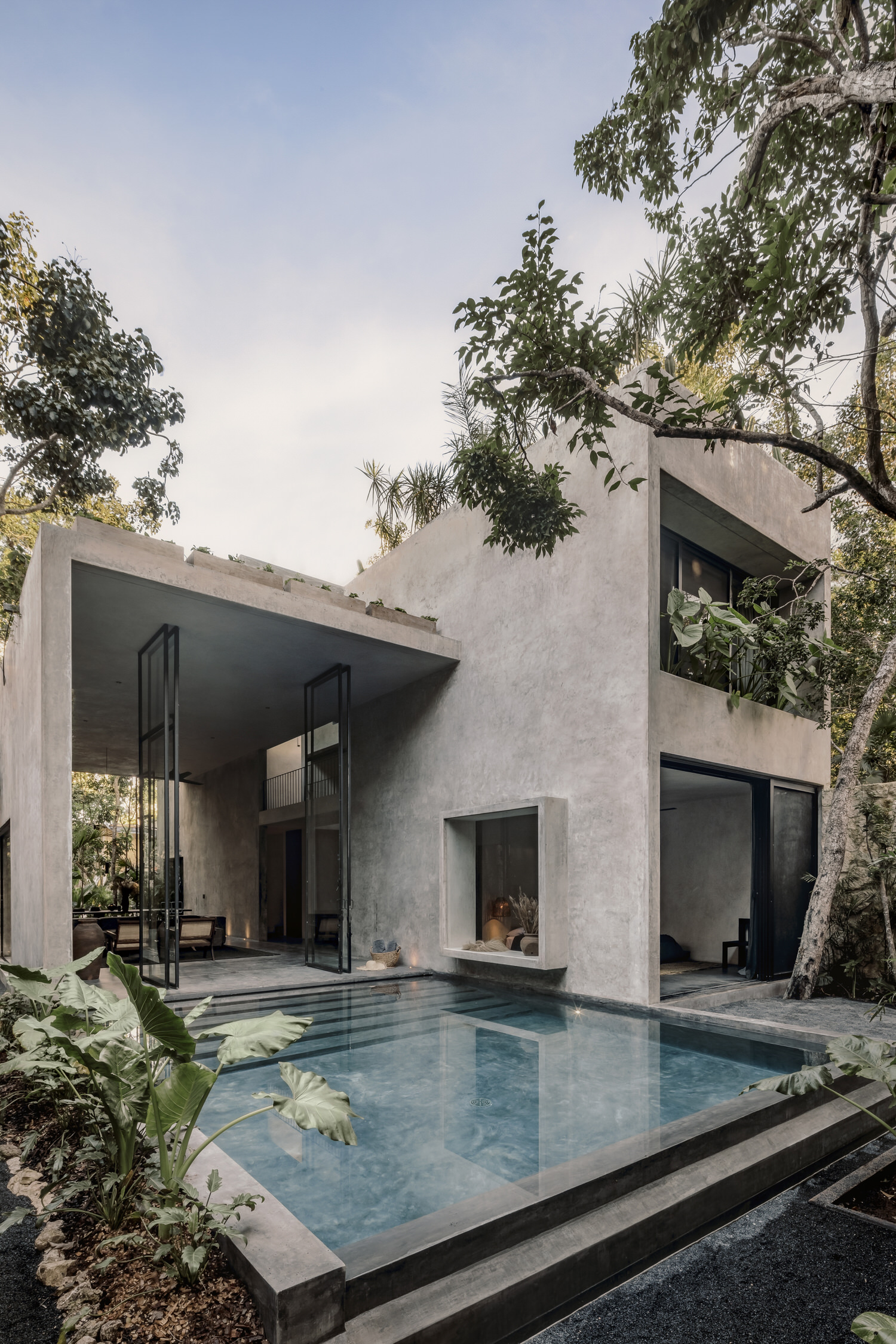 Co Lab Design Office Aviv House Tulum Mexico Arxhitecture Photo Cesar Bejar Yellowtrace 02