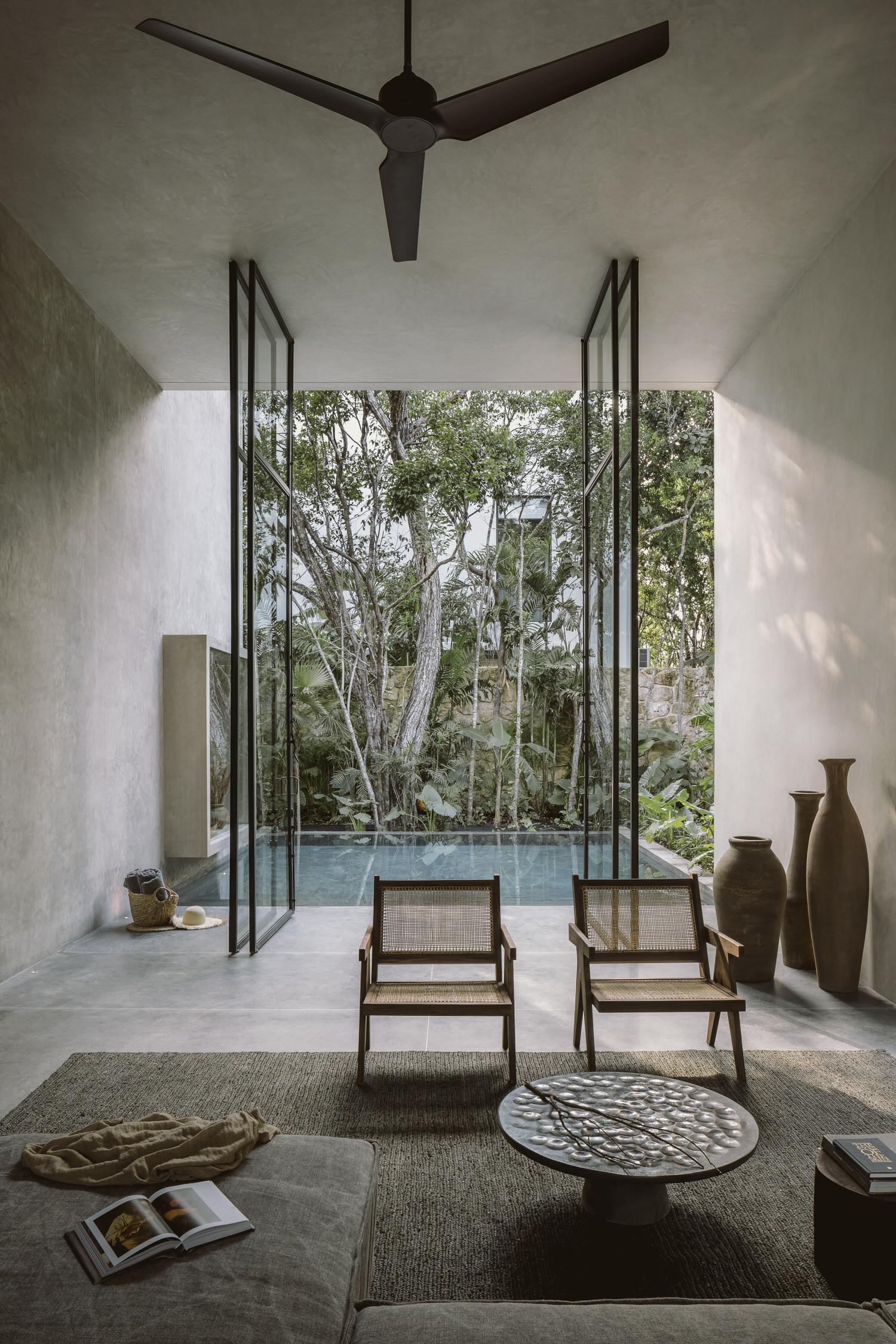 Co Lab Design Office Aviv House Tulum Mexico Arxhitecture Photo Cesar Bejar Yellowtrace 06