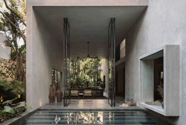 Co Lab Design Office Aviv House Tulum Mexico Arxhitecture Photo Cesar Bejar Yellowtrace