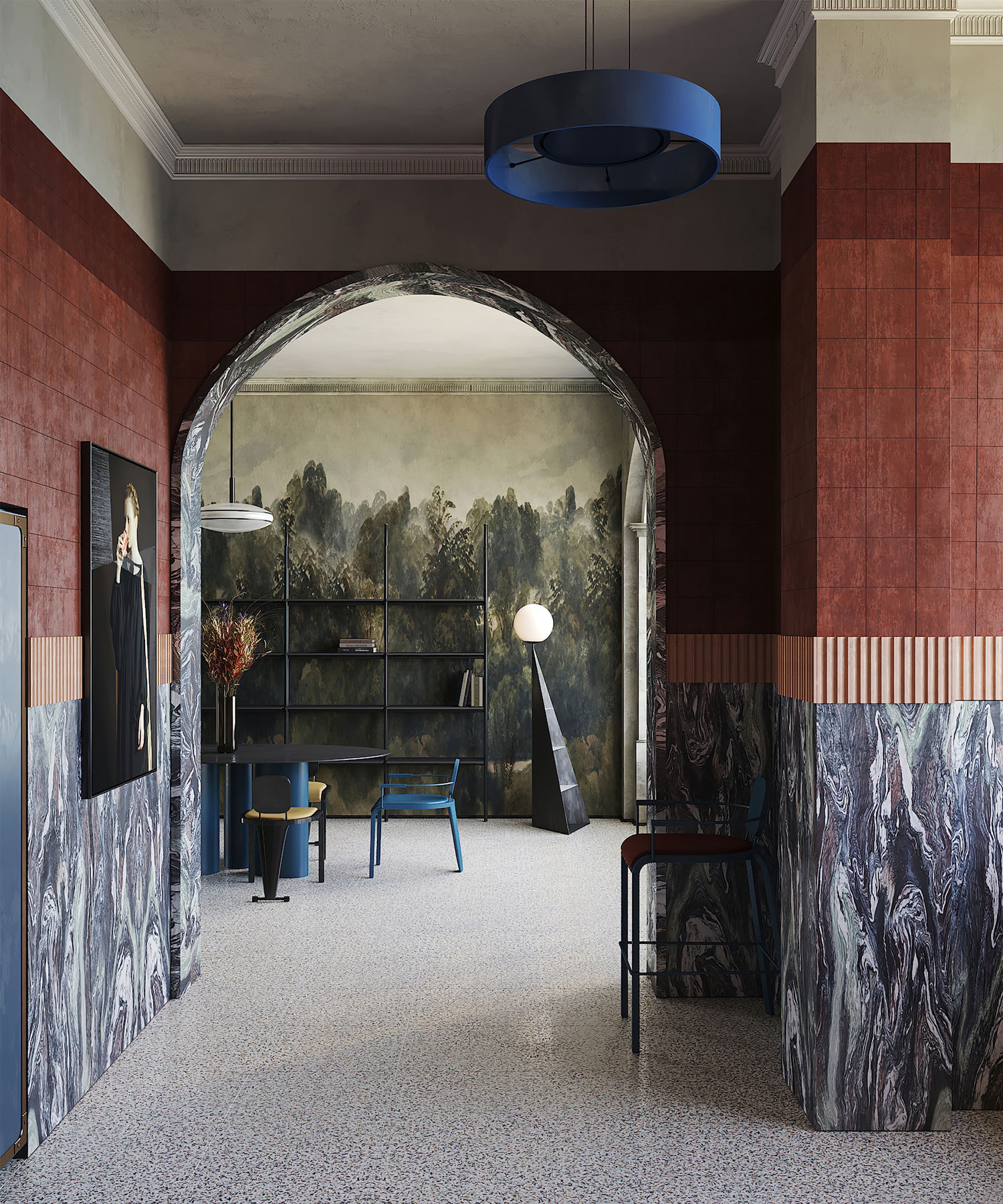 Puntofilipino Memphis Milano Apartament Interiors Photo Polina Parcevskya Yellowtrace 01