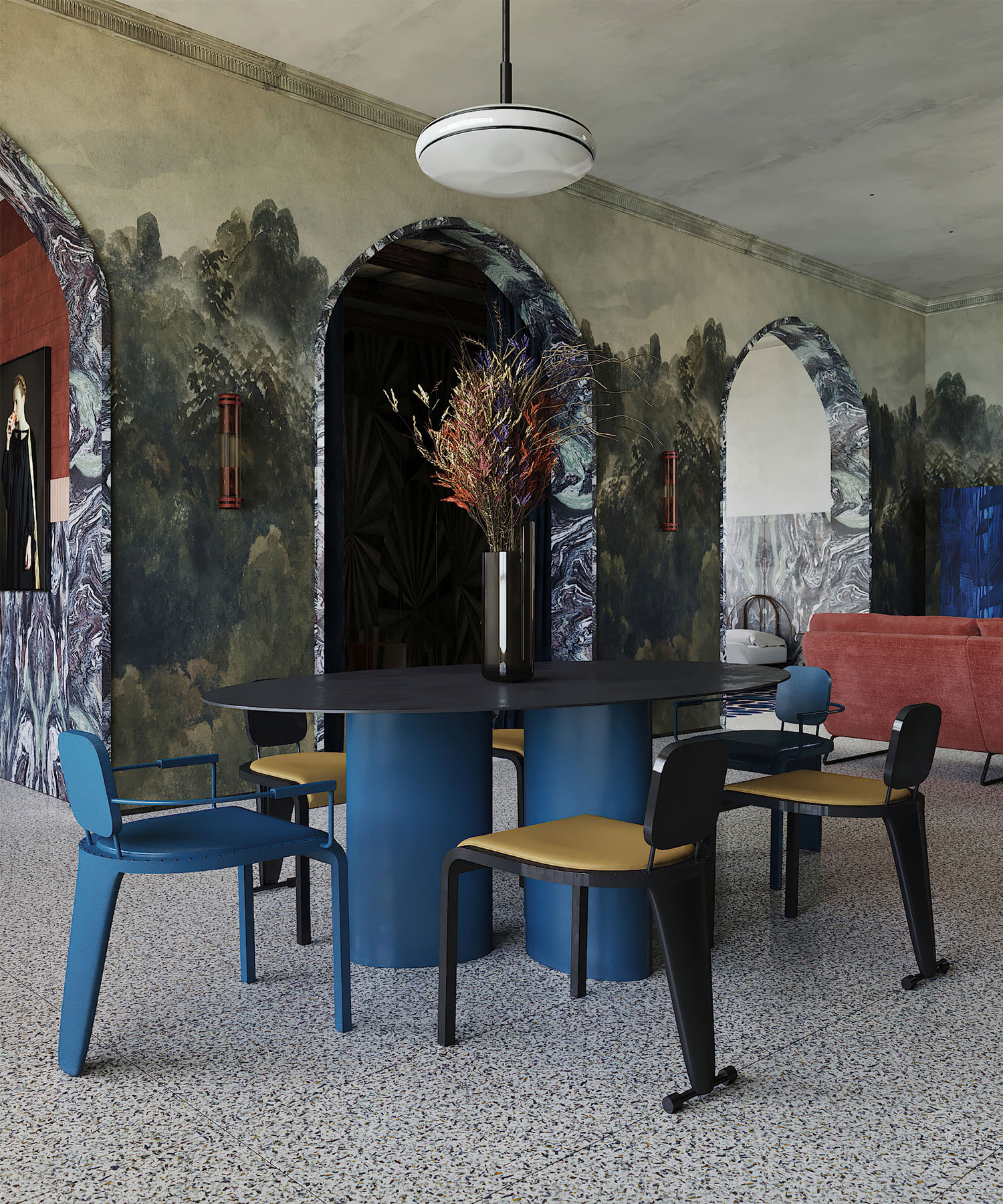Puntofilipino Memphis Milano Apartament Interiors Photo Polina Parcevskya Yellowtrace 03