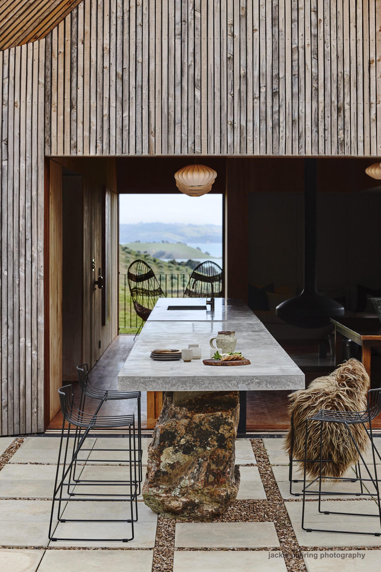 Cheshire Architects Awaawaroa Bay New Zealand Architecture Photo Jackie Meiring Yellowtrace 08