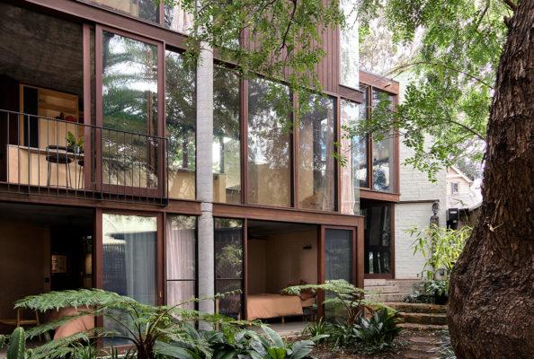 Fox Johnston Sir Grounds House Balmain Sydney Architecture Conrad Johnston Photo Anson Smart Yellowtrace