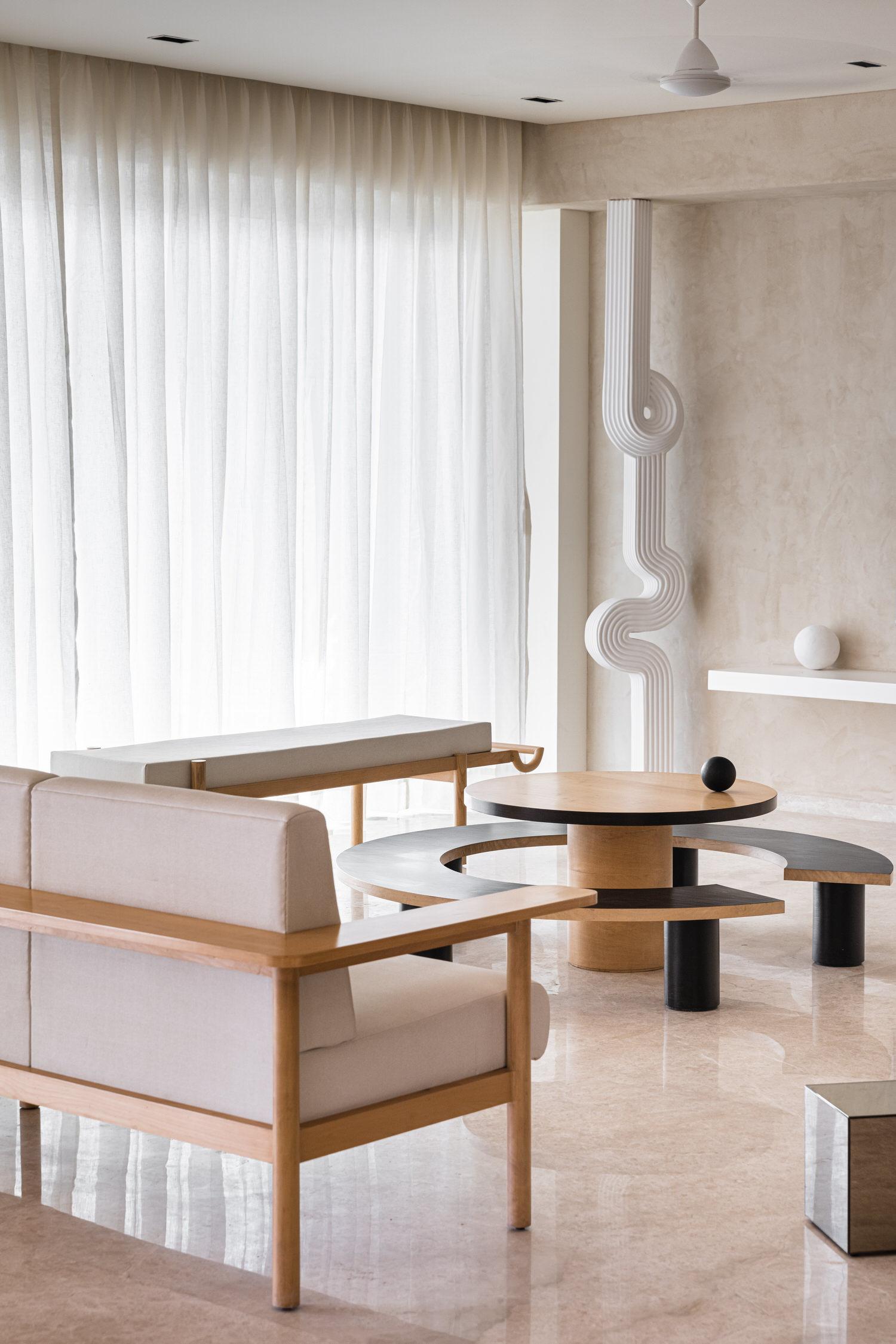 The Act Of Quad Mumbai Apartment Interior Design Yellowtrace 02