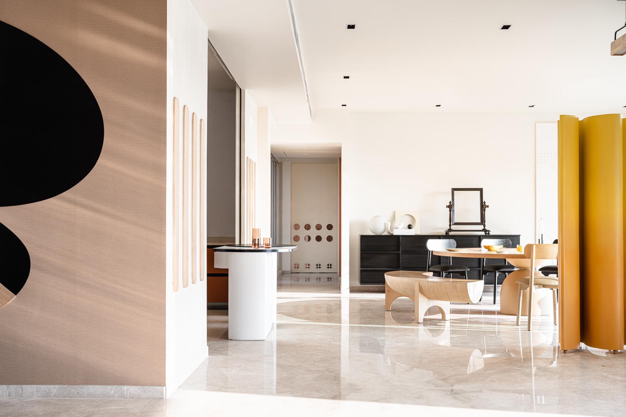 The Act Of Quad Mumbai Apartment Interior Design Yellowtrace 35