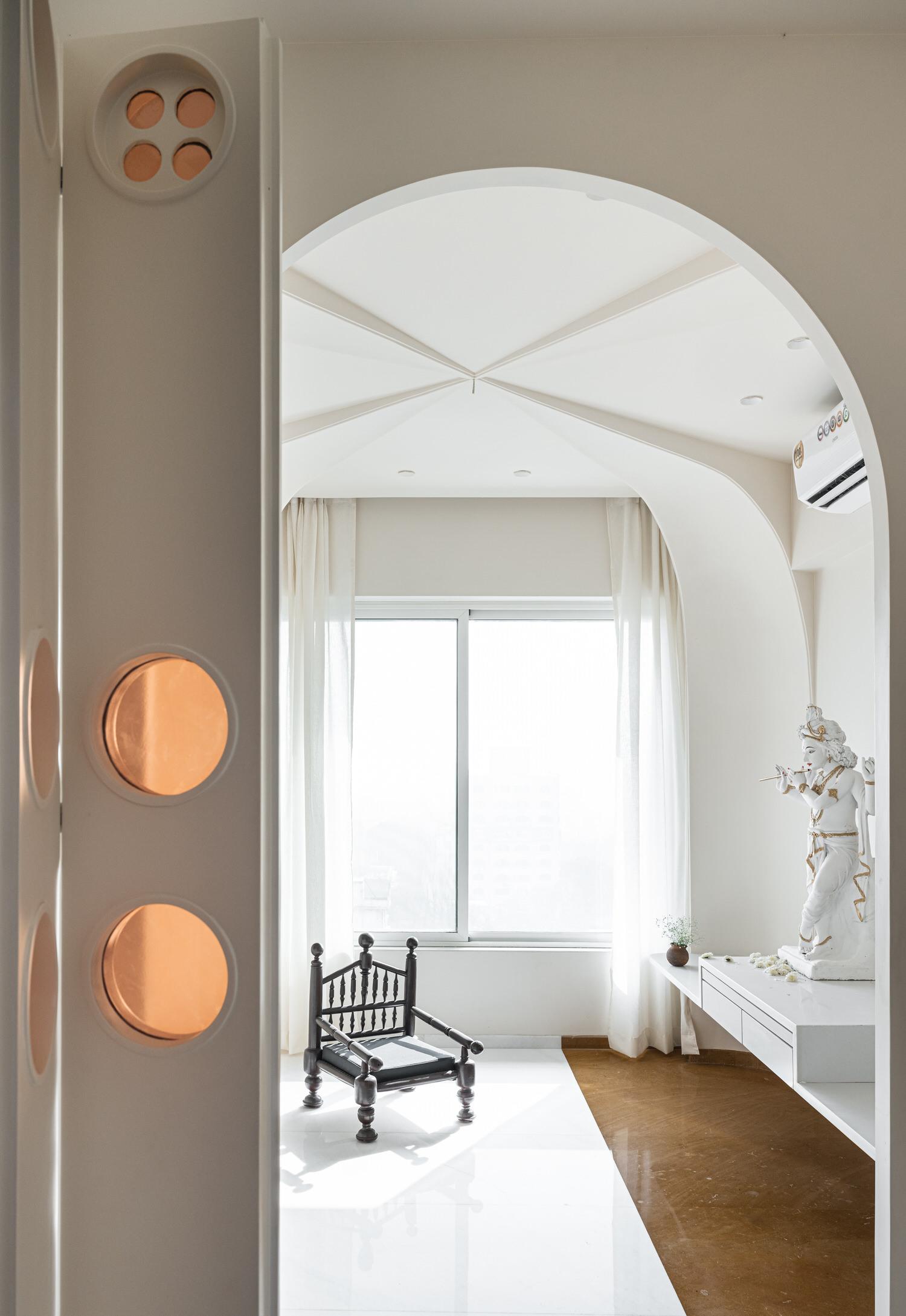 The Act Of Quad Mumbai Apartment Interior Design Yellowtrace 37