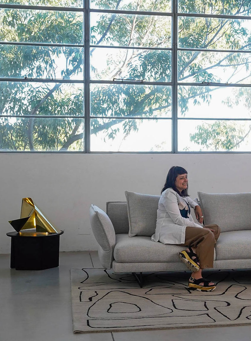 Sofa Session With Adriana Hanna Video Interview With Dana Tomic Hughes Yellowtrace Photo Nick Hughes