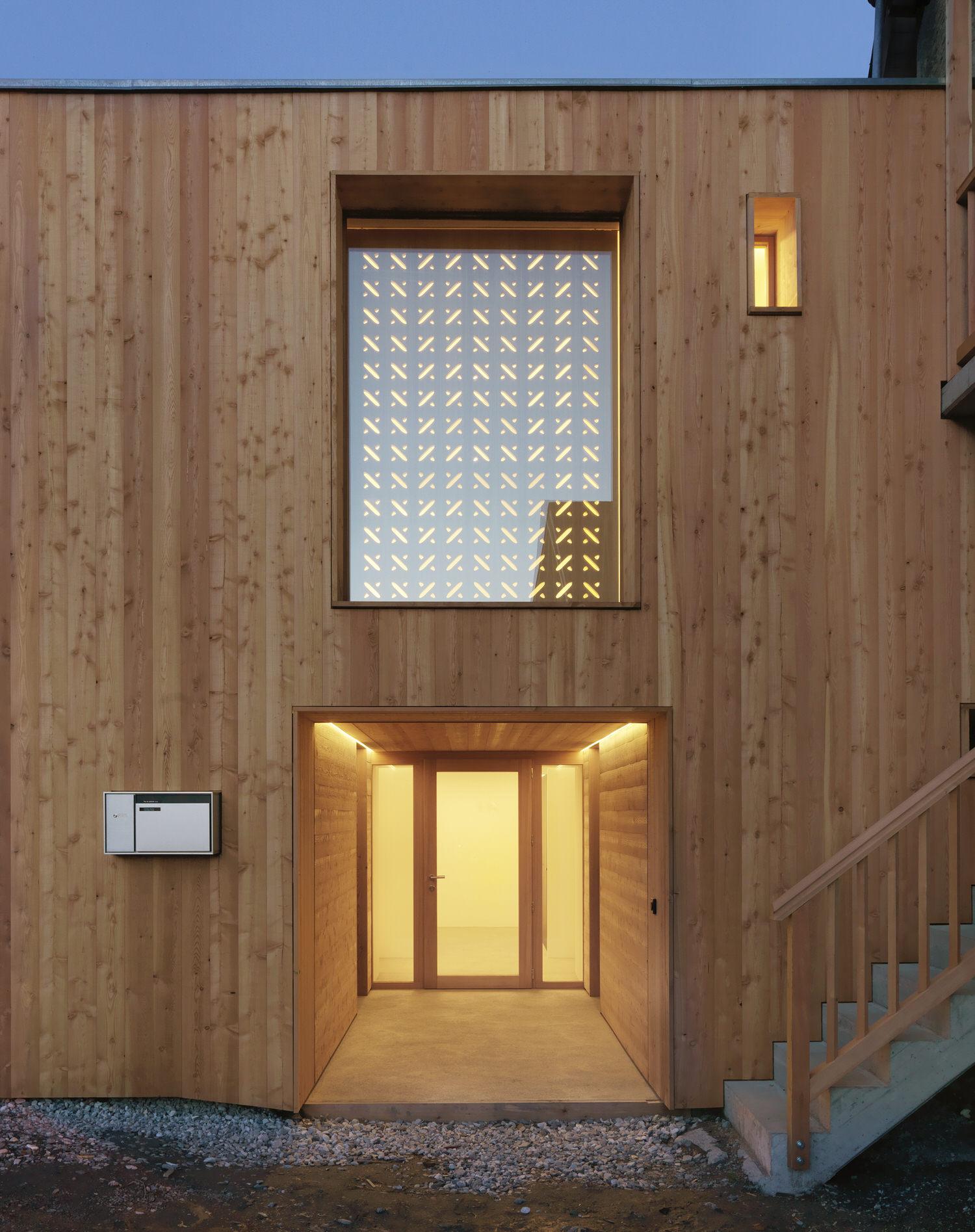 Ralph Germann Architectes House Ccb Valais Switzerland Photo Lionel Henriod Yellowtrace 18
