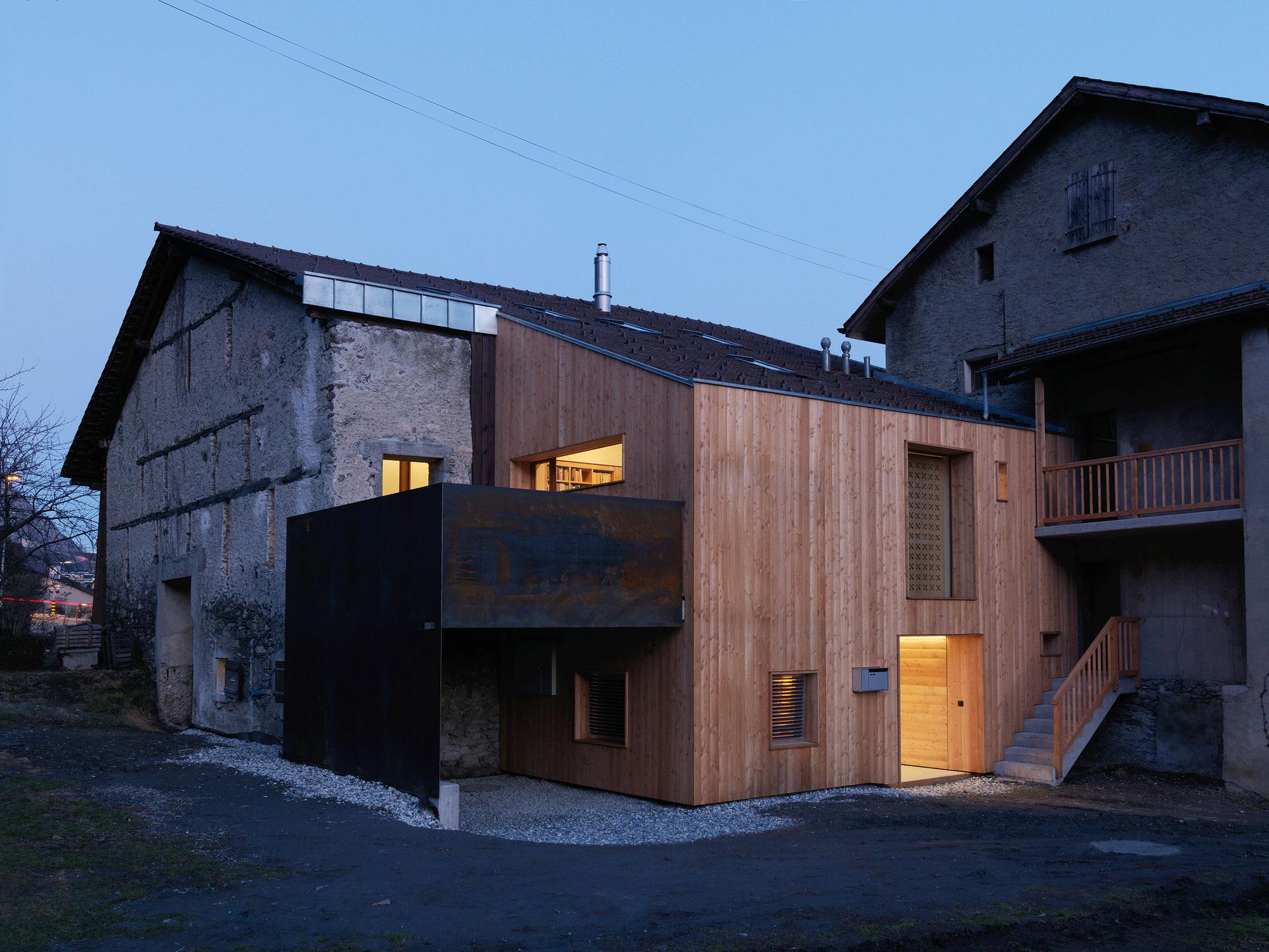 Ralph Germann Architectes House Ccb Valais Switzerland Photo Lionel Henriod Yellowtrace 19