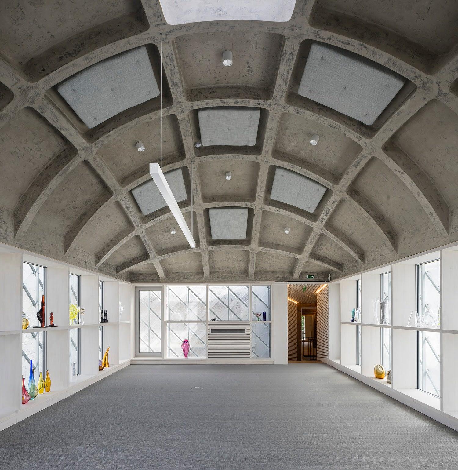 Ov A Architects Lasvit Headoffice Czech Republic Novy Bor Yellowtrace 03