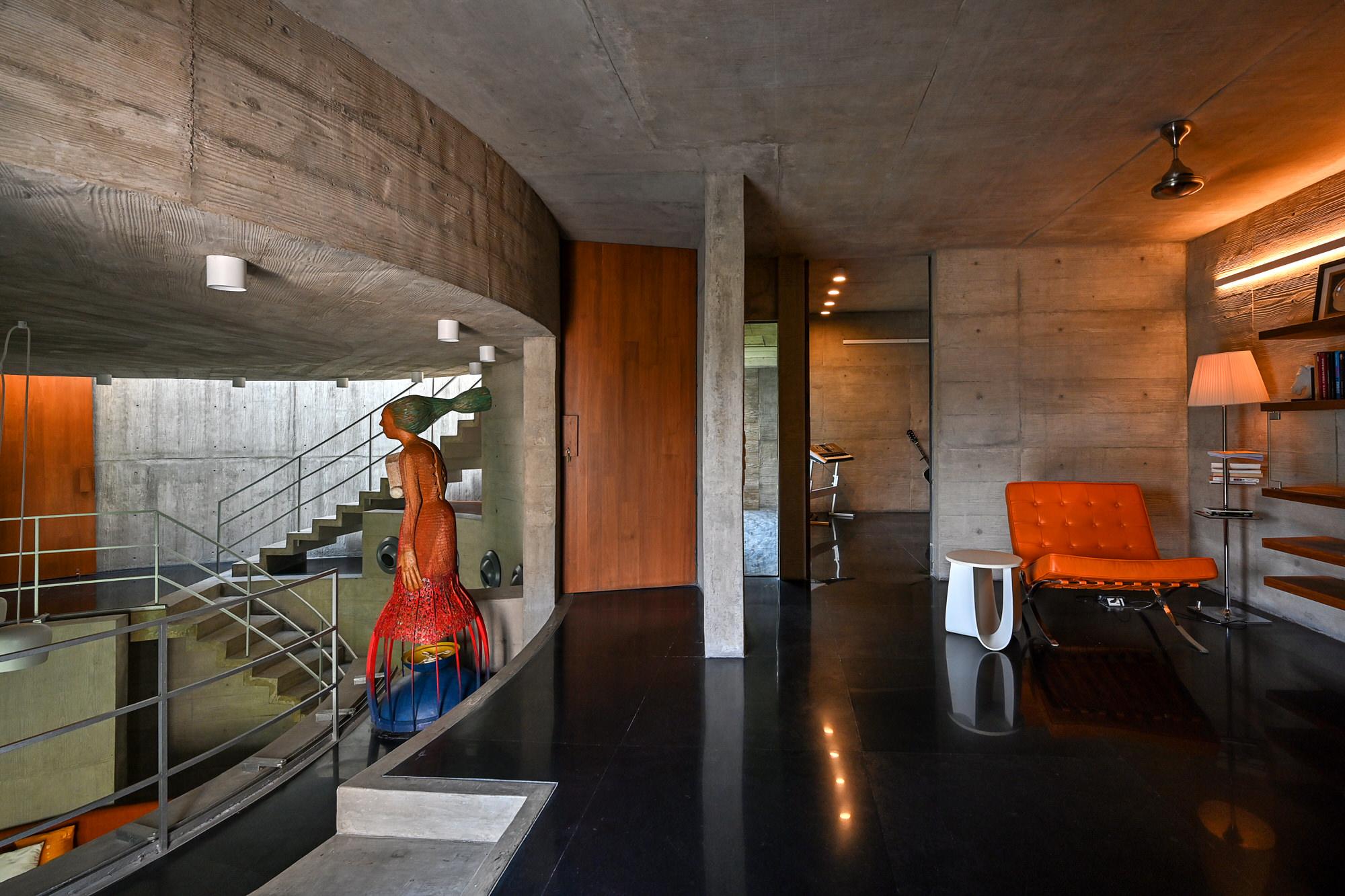 Matharoo Associates Plain Ties House Surat India Photo Dinesh Mehta Yellowtrace 09