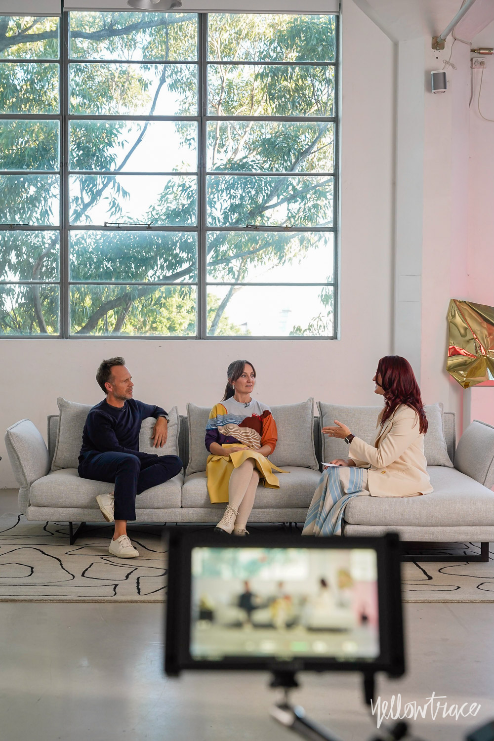 Sofa Session With Richards Stanisich Video Interview With Dana Tomic Hughes Yellowtrace