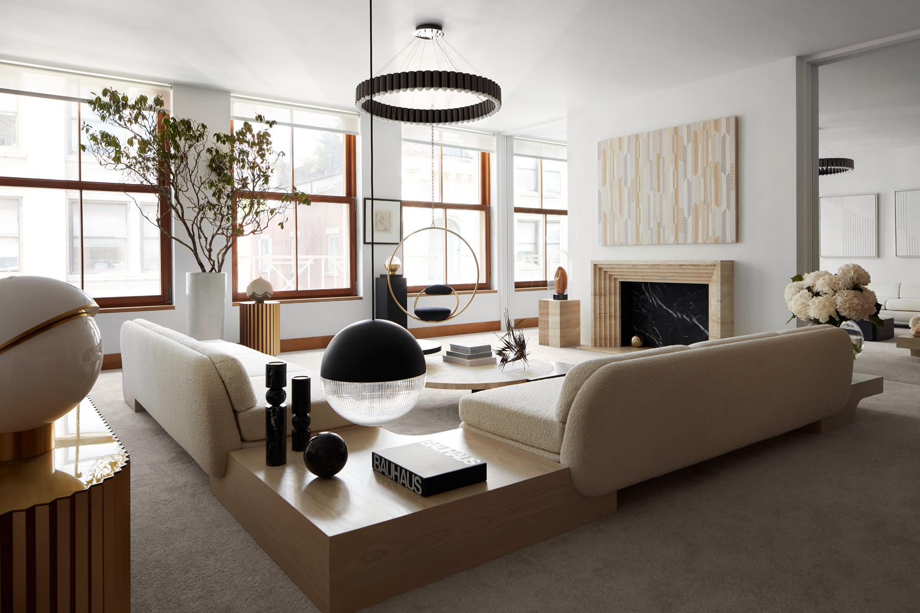 Lee Broom Penthouse New York Living Room Photo Stephen Kent Johnson Yellowtrace 05