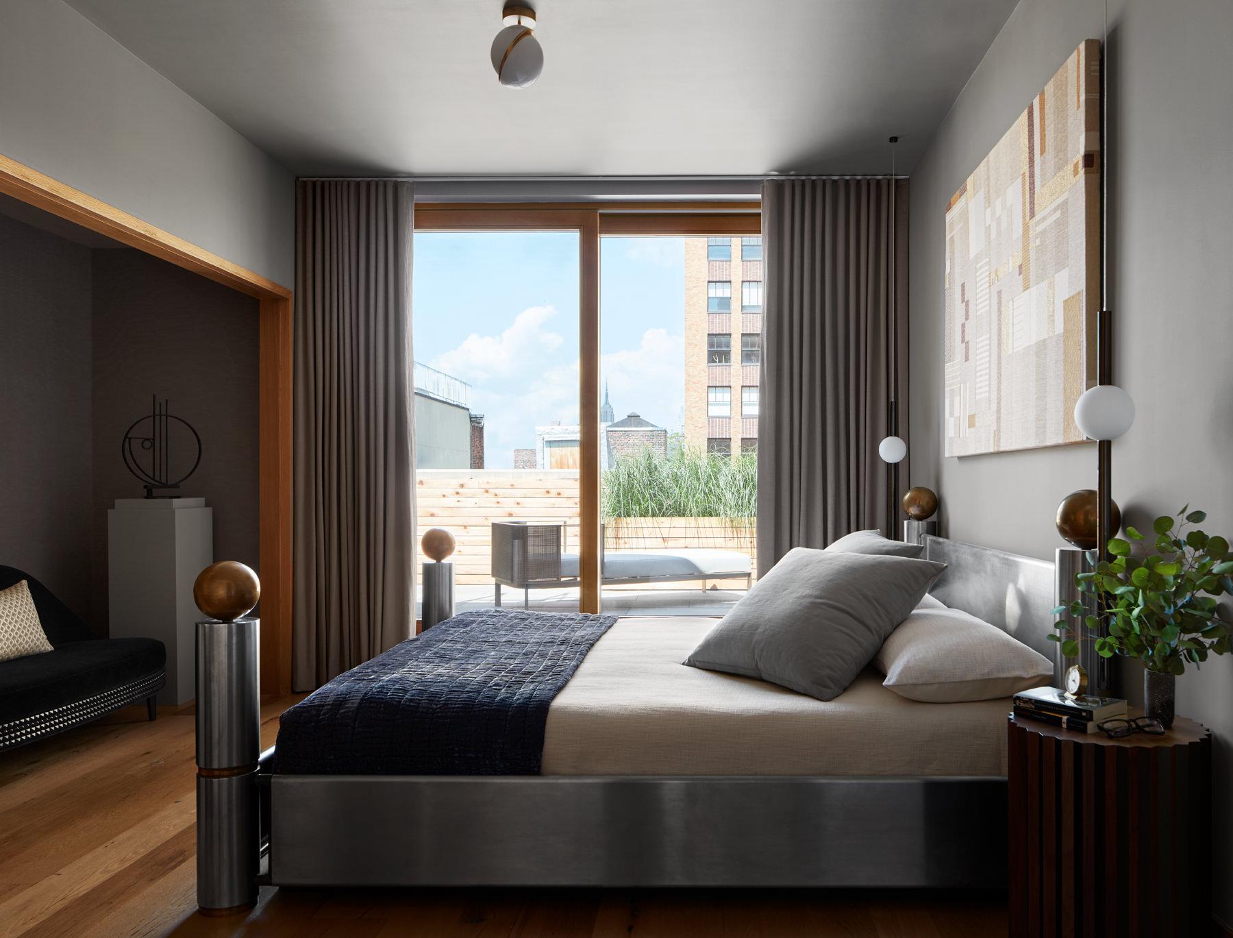 Lee Broom Penthouse New York Master Bedroom Photo Stephen Kent Johnson Yellowtrace 17