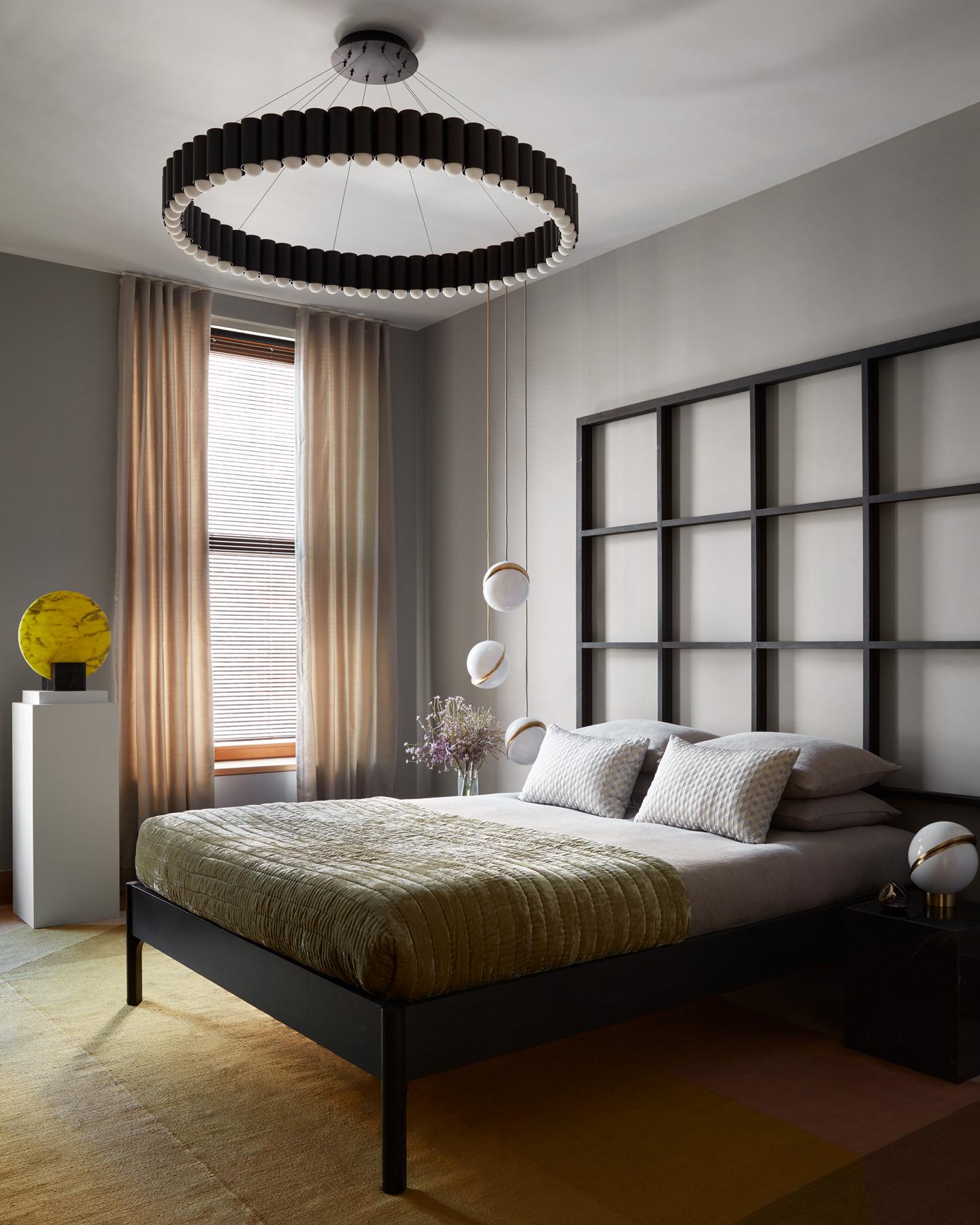 Lee Broom Penthouse New York Guest Bedroom Photo Stephen Kent Johnson Yellowtrace 21