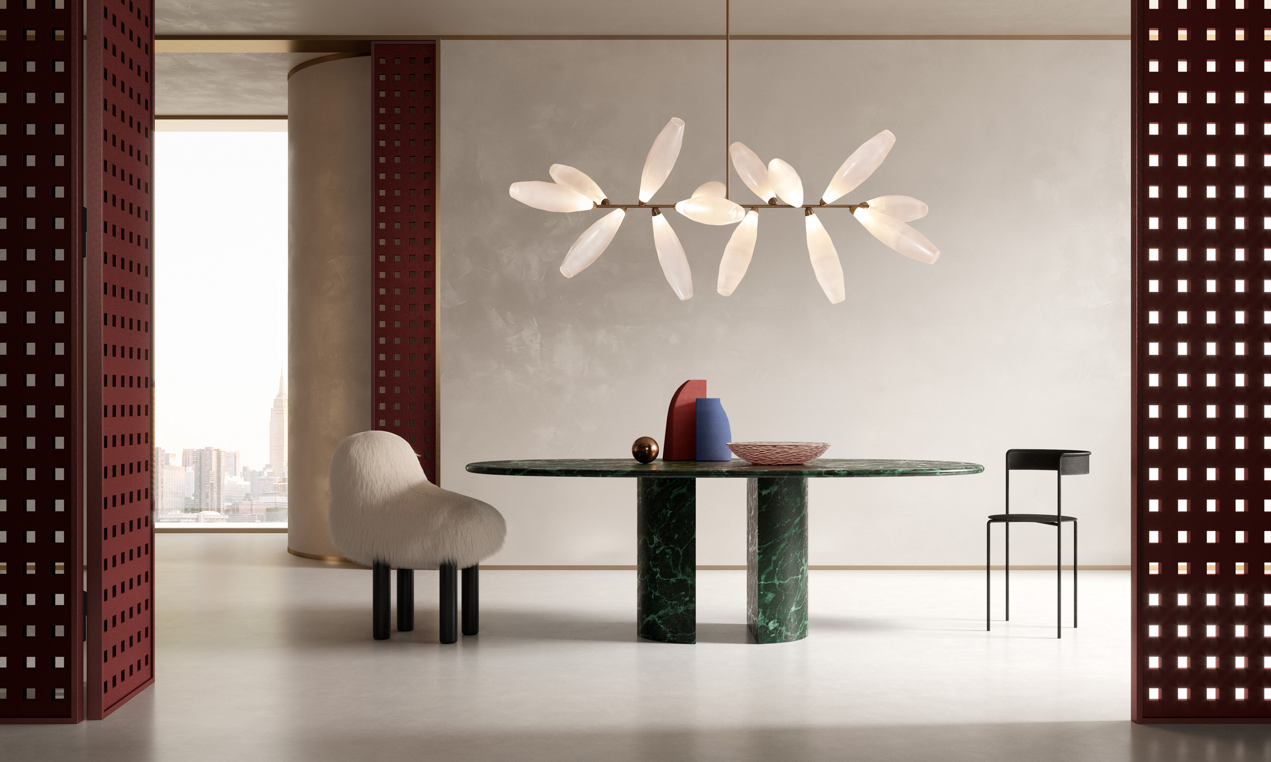 Supernatural Daydreams and Divine Lighting Collections by Giopato & Coombes.