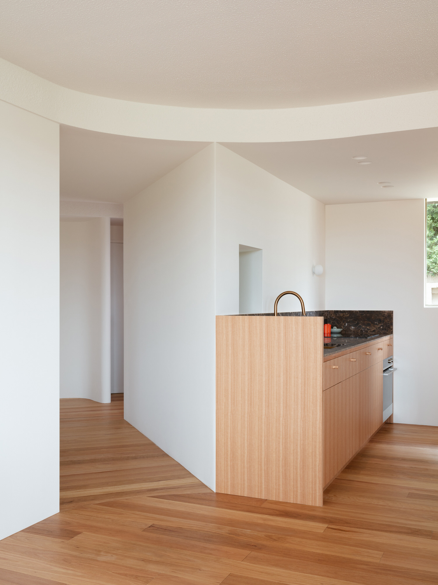 MB Apartment in Drummoyne by Bokey Grant Architects.