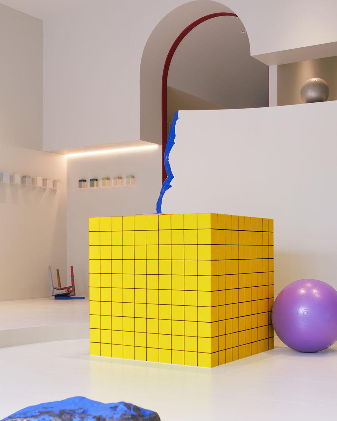 Colour Me Happy: Paint Experience Centre by NDB Design Studio.
