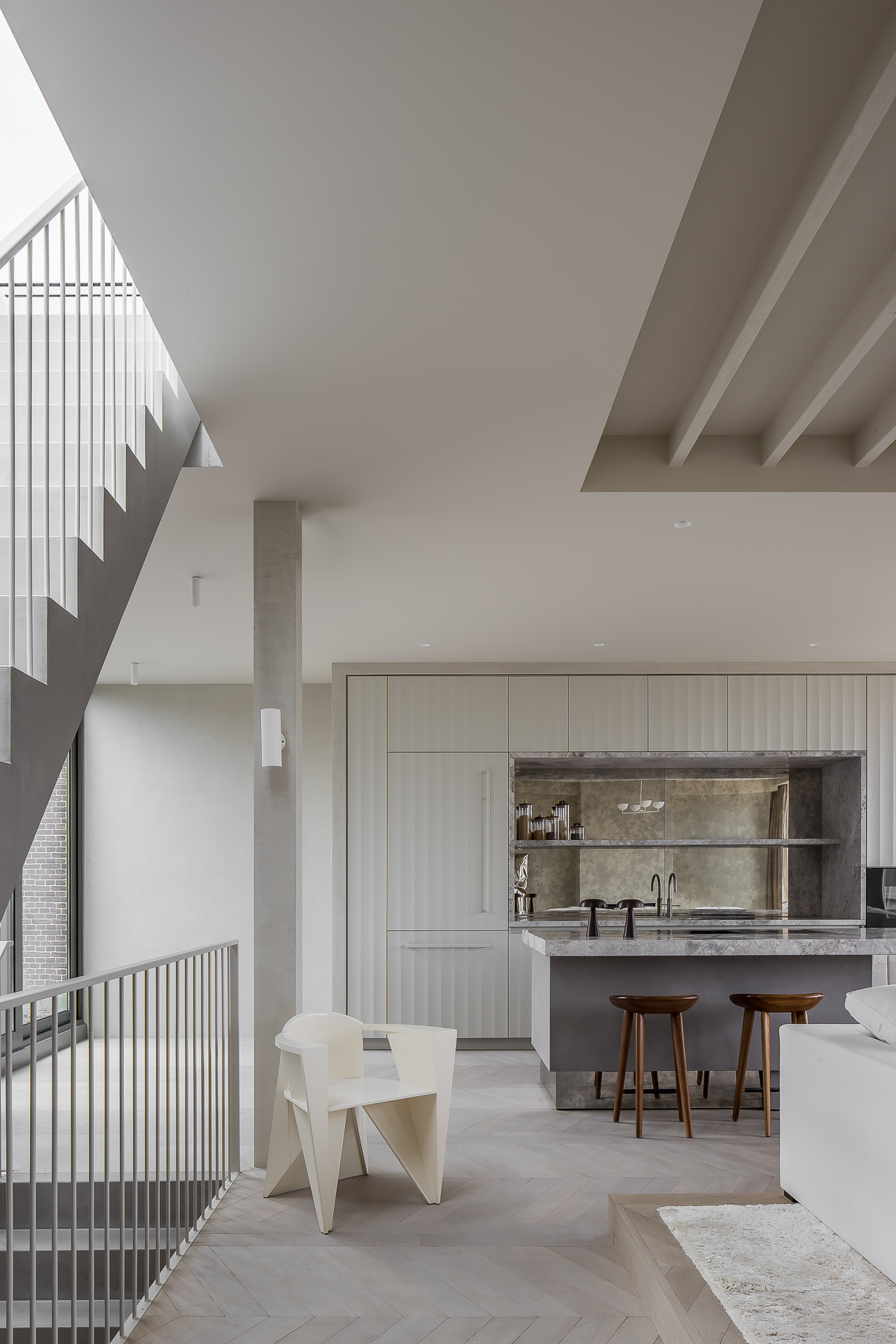 Framework Studio Residential 610 Weesperzijde Amsterdam Penthouse Photo Thomas De Bruyne Cafeine Yellowtrace 03