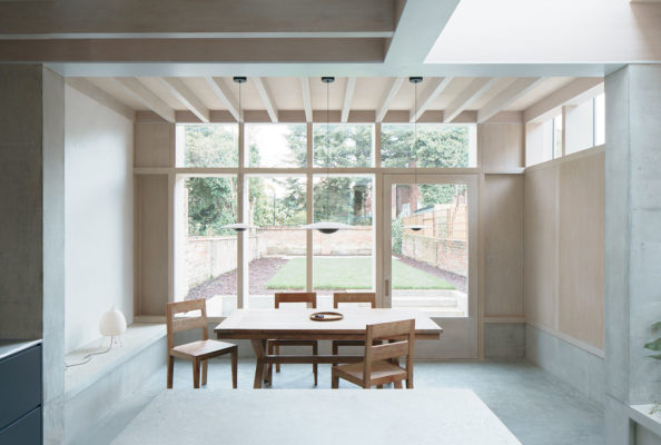 Dgn Studio Concrete Plinth House East London Residential Architecture Photo Nick Dearden Yellowtrace