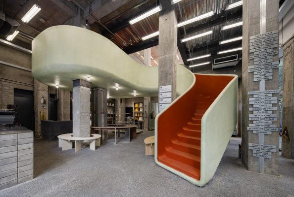 Aim Architecture In The Park Mini Department Store Shanghai Photo Wen Studio Yellowtrace