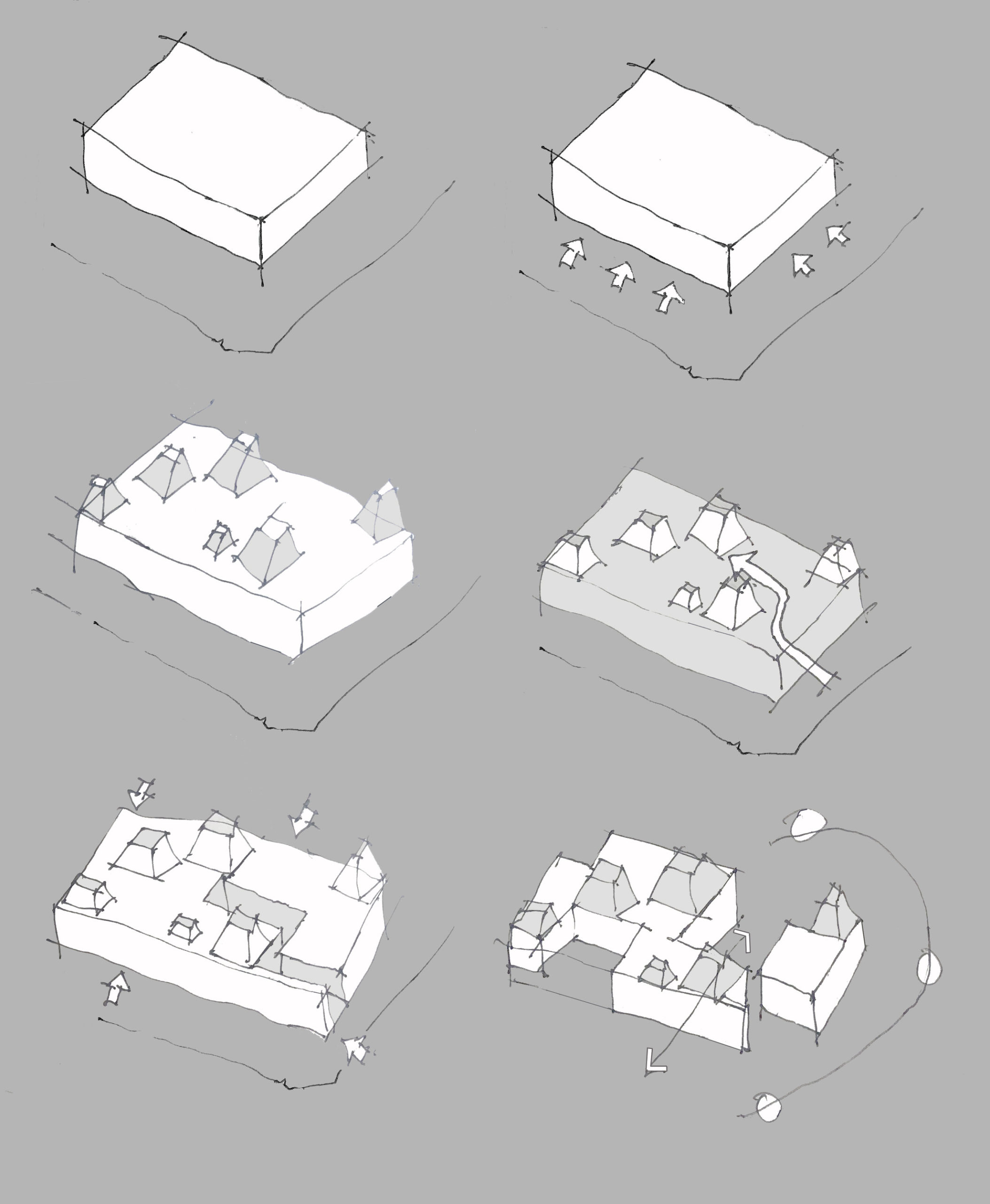 Architects Eat Bellows Beach House Flinders Masonry Architecture Sketch Yellowtrace