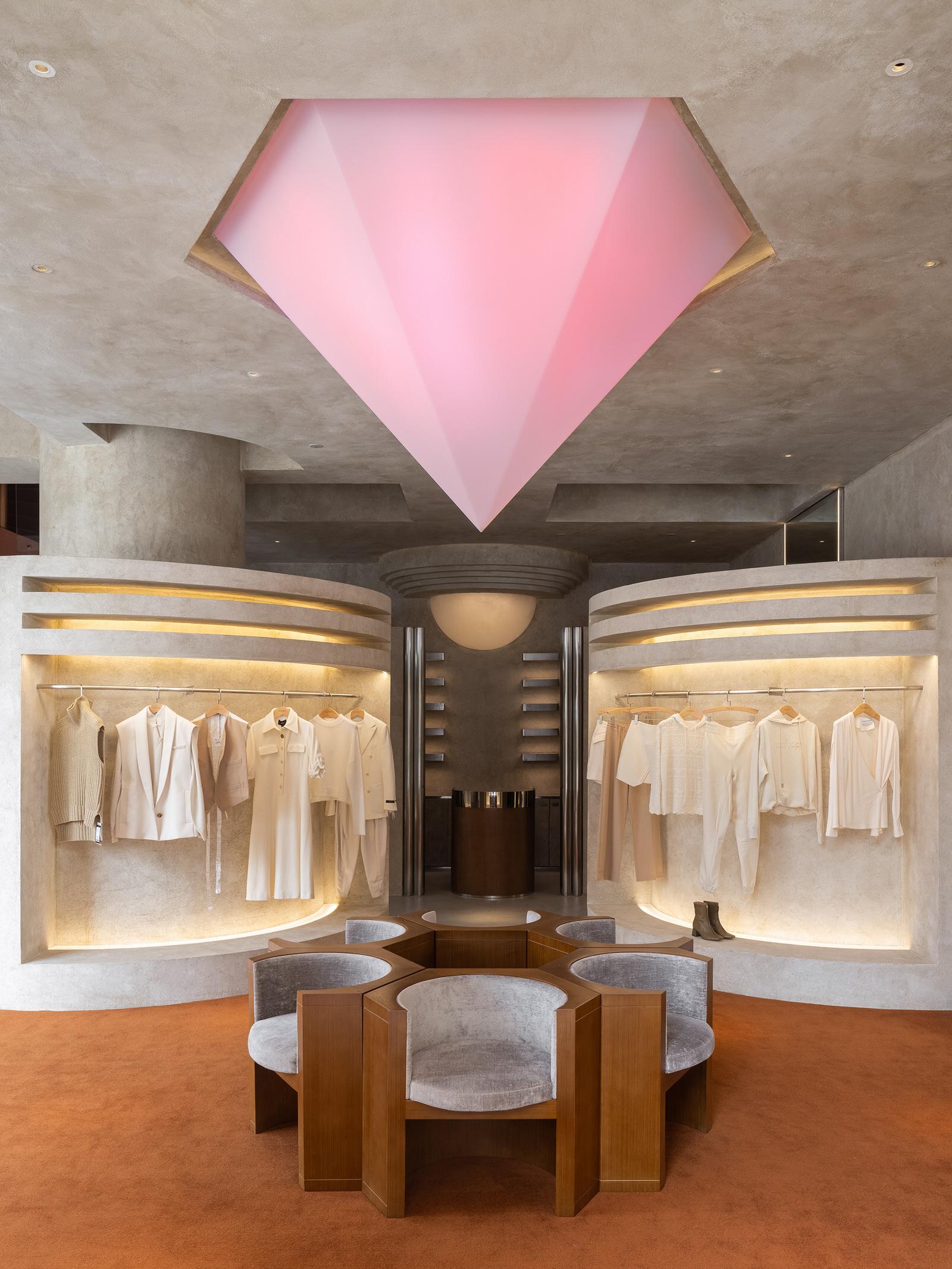 Liang Architecture Studio Audrey Boutique Hangzhou China Luxury Retail Photo Shao Feng Yellowtrace 01