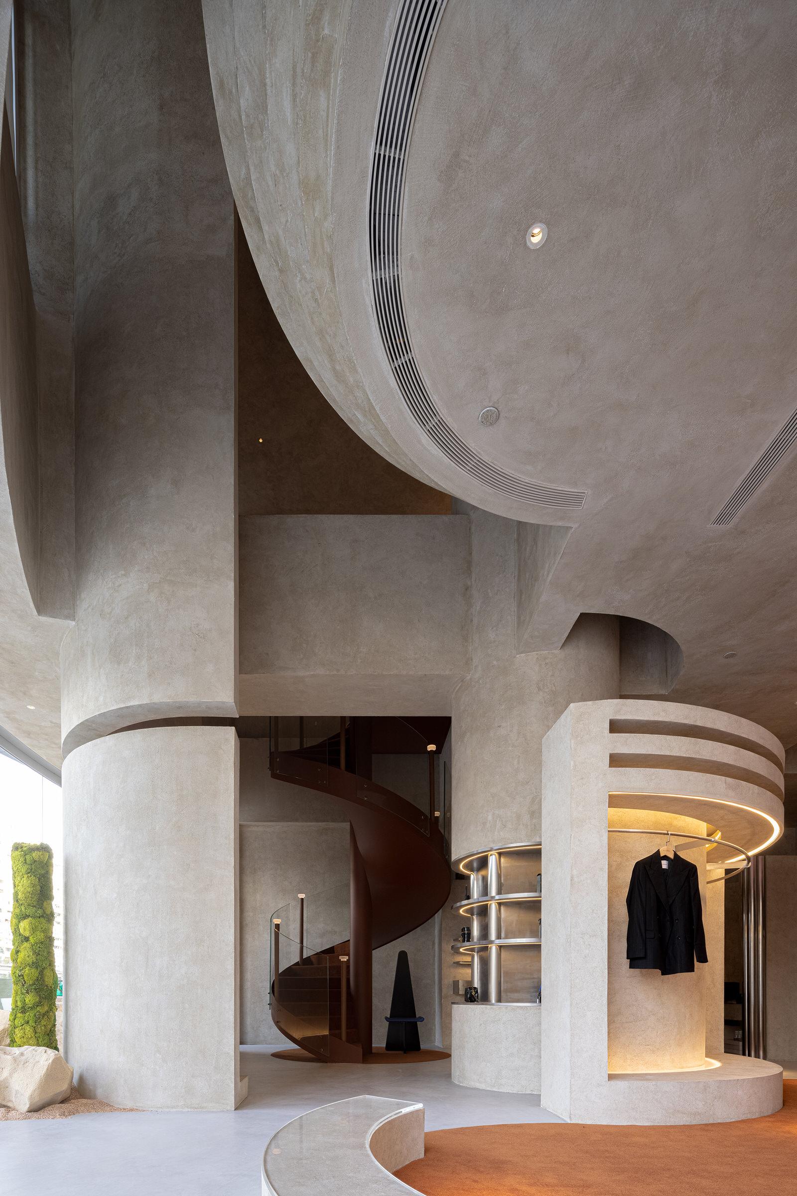 Liang Architecture Studio Audrey Boutique Hangzhou China Luxury Retail Photo Shao Feng Yellowtrace 02