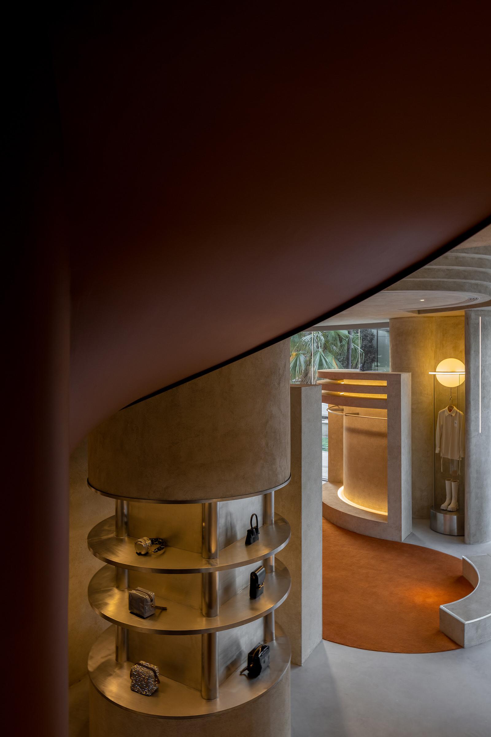 Liang Architecture Studio Audrey Boutique Hangzhou China Luxury Retail Photo Shao Feng Yellowtrace 03