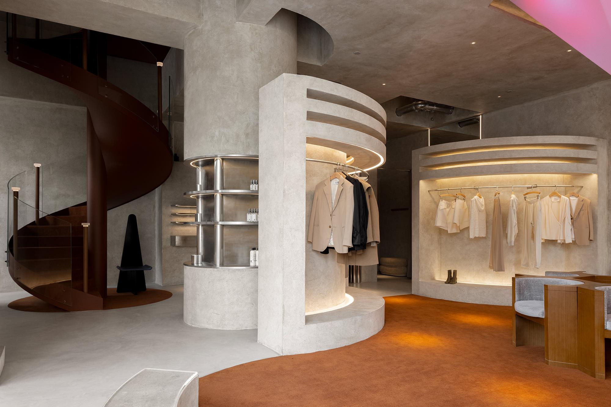 Liang Architecture Studio Audrey Boutique Hangzhou China Luxury Retail Photo Shao Feng Yellowtrace 06