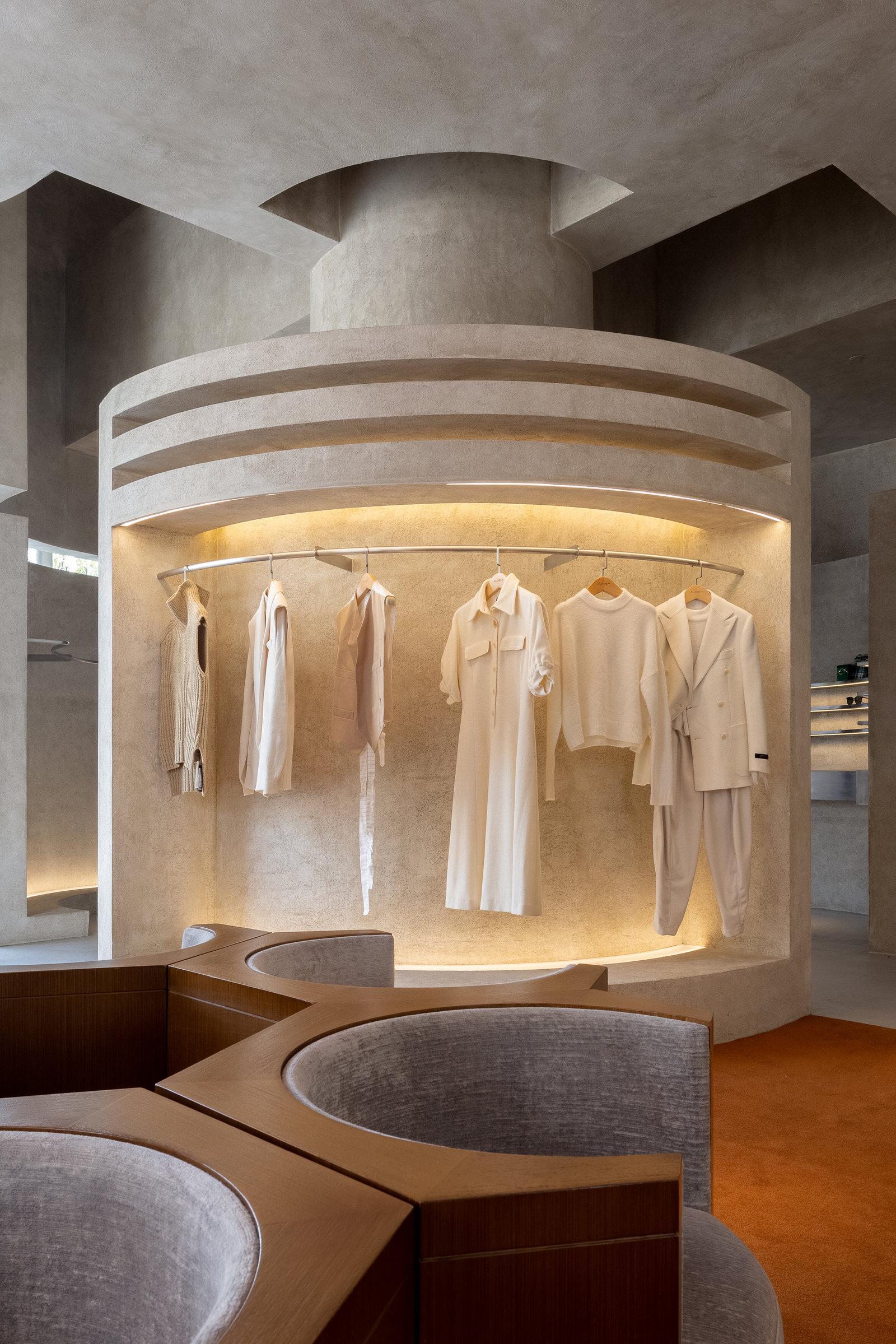 Liang Architecture Studio Audrey Boutique Hangzhou China Luxury Retail Photo Shao Feng Yellowtrace 09