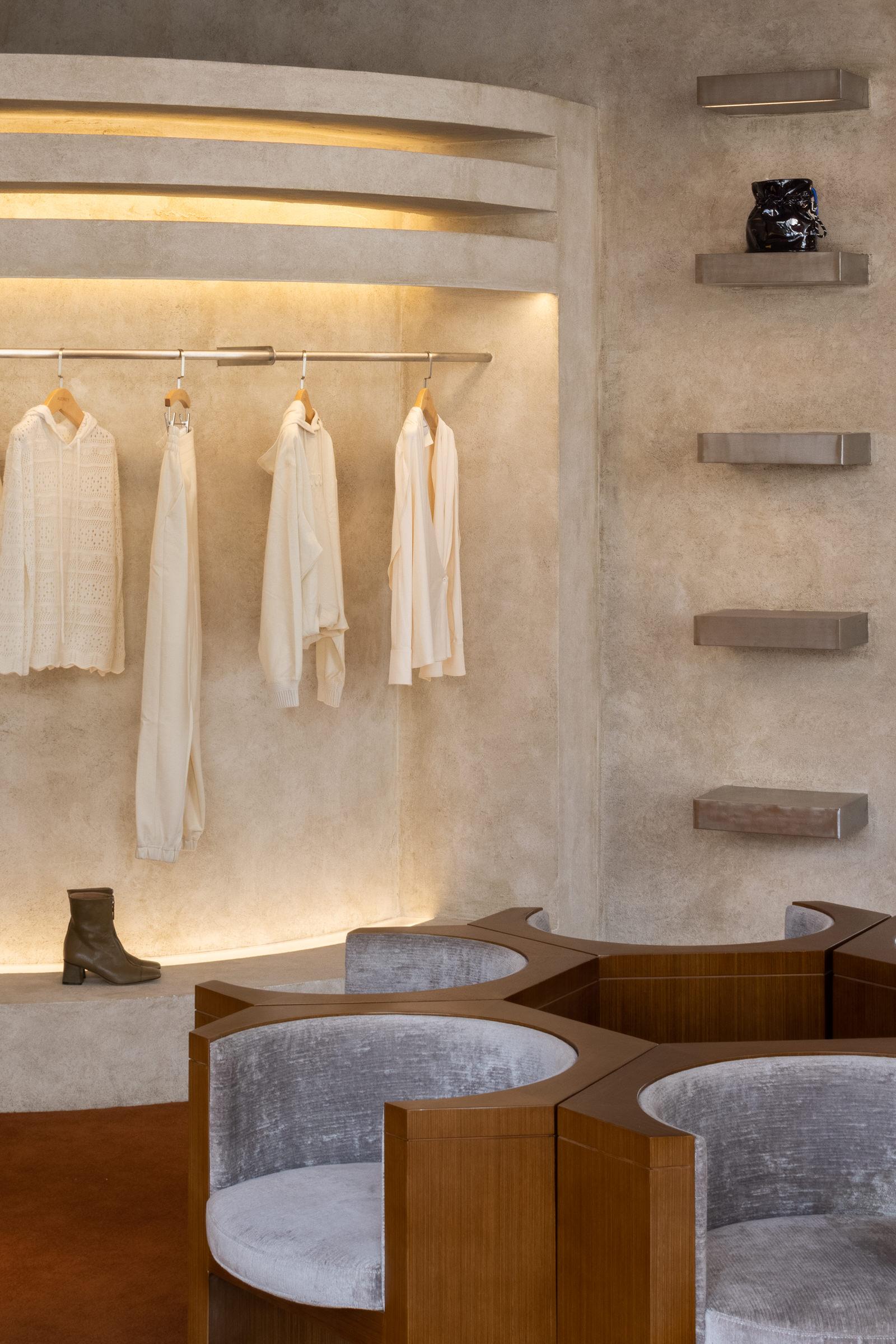 Liang Architecture Studio Audrey Boutique Hangzhou China Luxury Retail Photo Shao Feng Yellowtrace 11