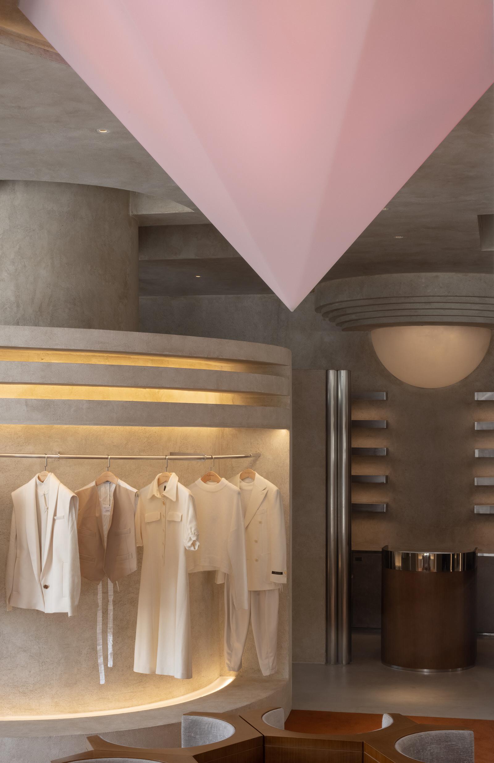 Liang Architecture Studio Audrey Boutique Hangzhou China Luxury Retail Photo Shao Feng Yellowtrace 12