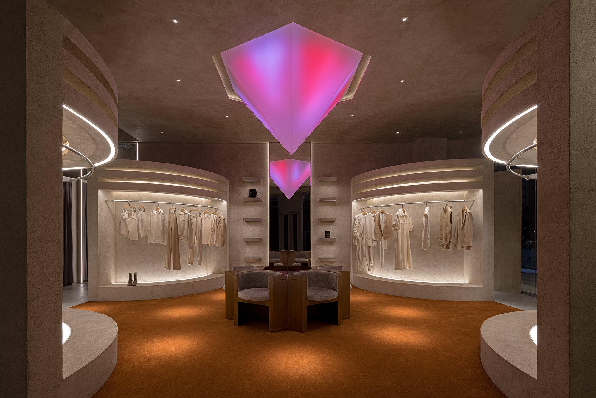 Liang Architecture Studio Audrey Boutique Hangzhou China Luxury Retail Photo Shao Feng Yellowtrace 26