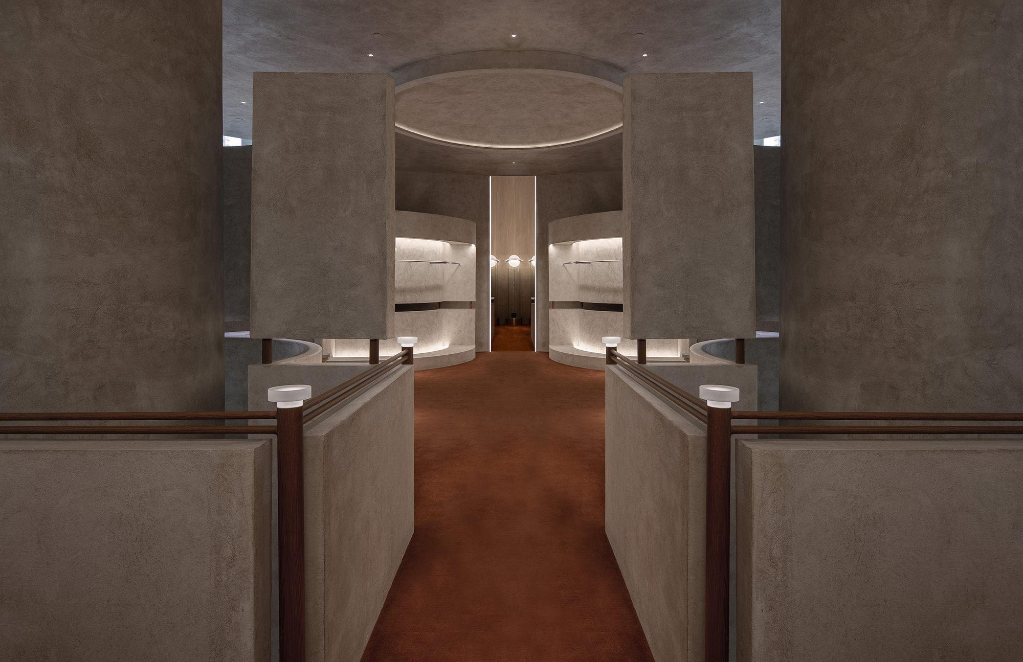Liang Architecture Studio Audrey Boutique Hangzhou China Luxury Retail Photo Shao Feng Yellowtrace 35