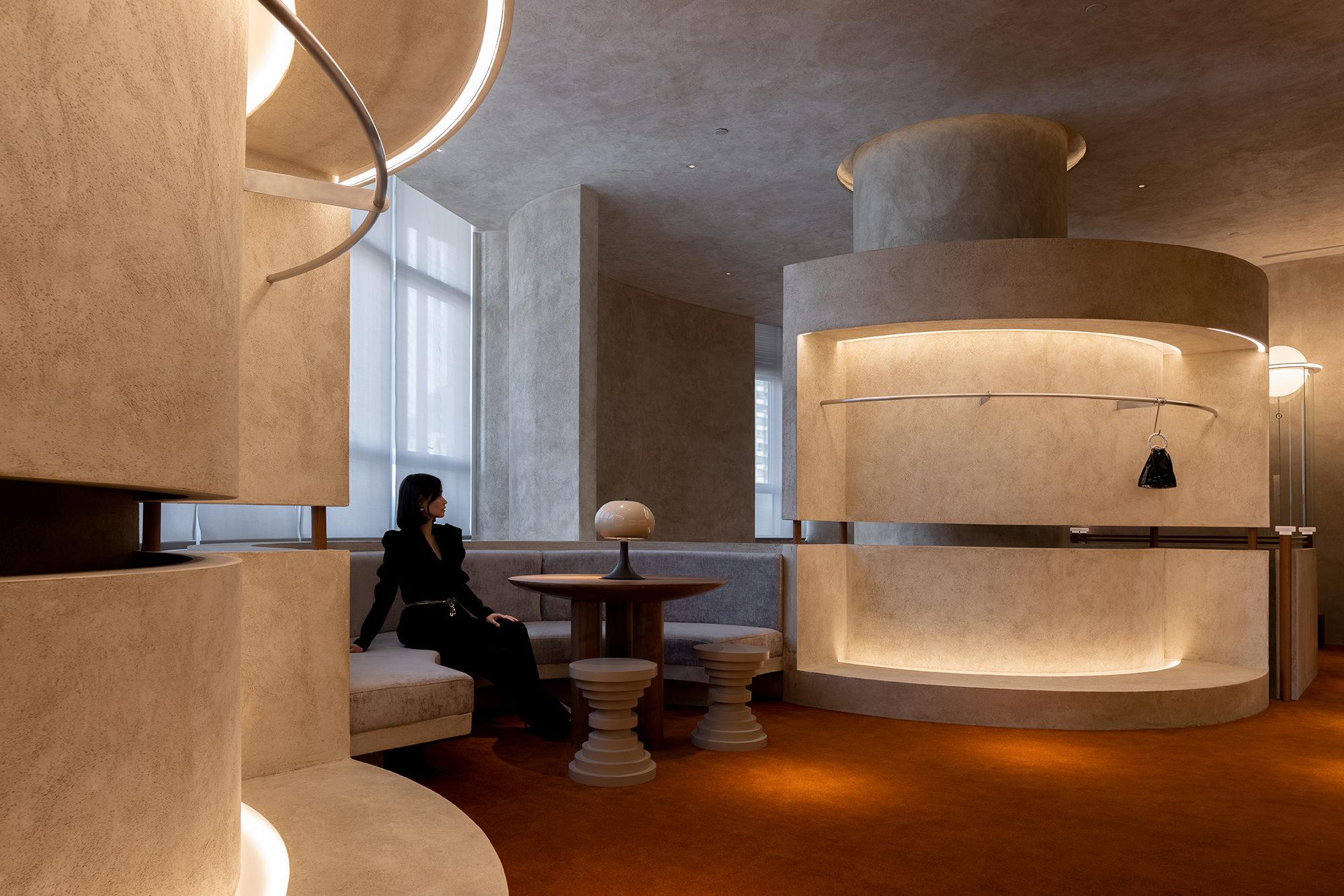 Liang Architecture Studio Audrey Boutique Hangzhou China Luxury Retail Photo Shao Feng Yellowtrace 37