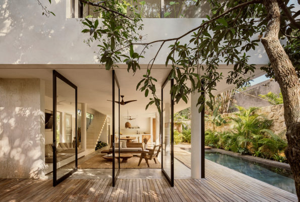 Co Lab Design Office Casa Areca Tulum Luxury Holiday House Photo Cesar Bejar Yellowtrace