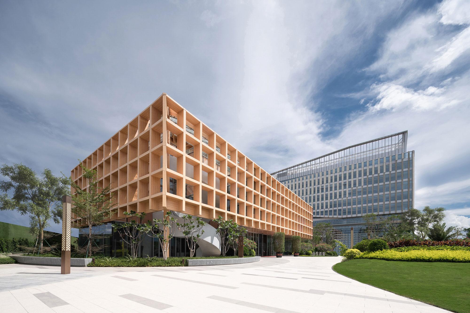 Clou Architects Sanya Farm Lab Co Life Timber Pavilion Hainan China Yellowtrace 03