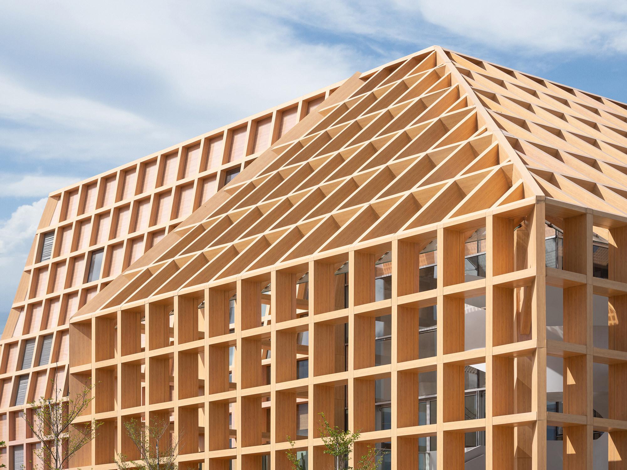 Clou Architects Sanya Farm Lab Co Life Timber Pavilion Hainan China Yellowtrace 05