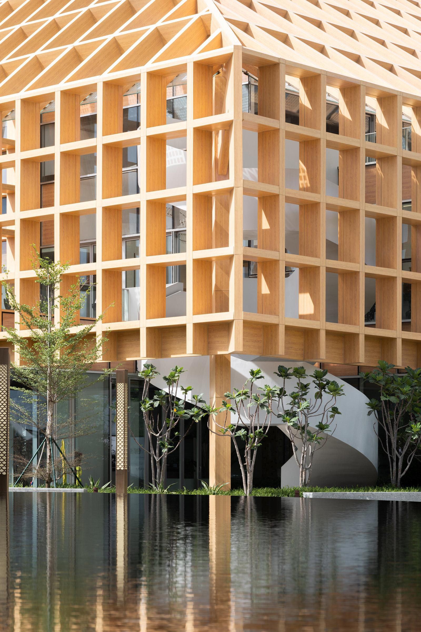 Clou Architects Sanya Farm Lab Co Life Timber Pavilion Hainan China Yellowtrace 06