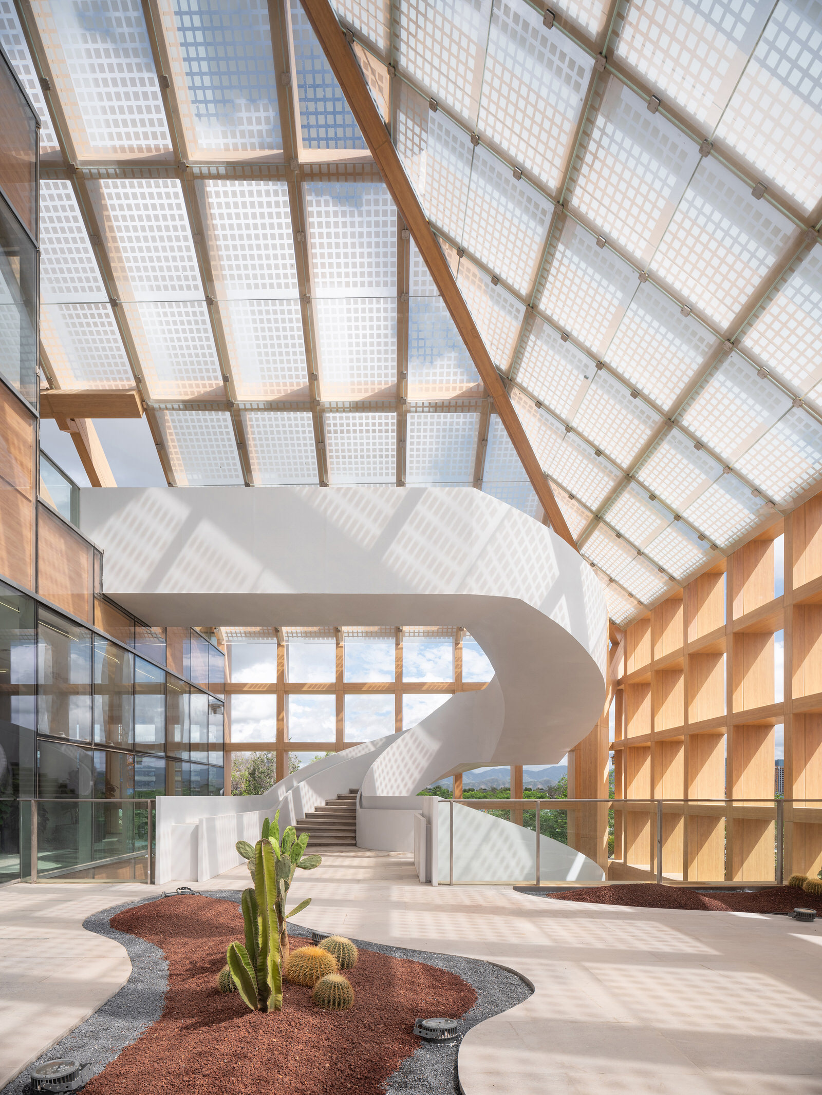 Clou Architects Sanya Farm Lab Co Life Timber Pavilion Hainan China Yellowtrace 07
